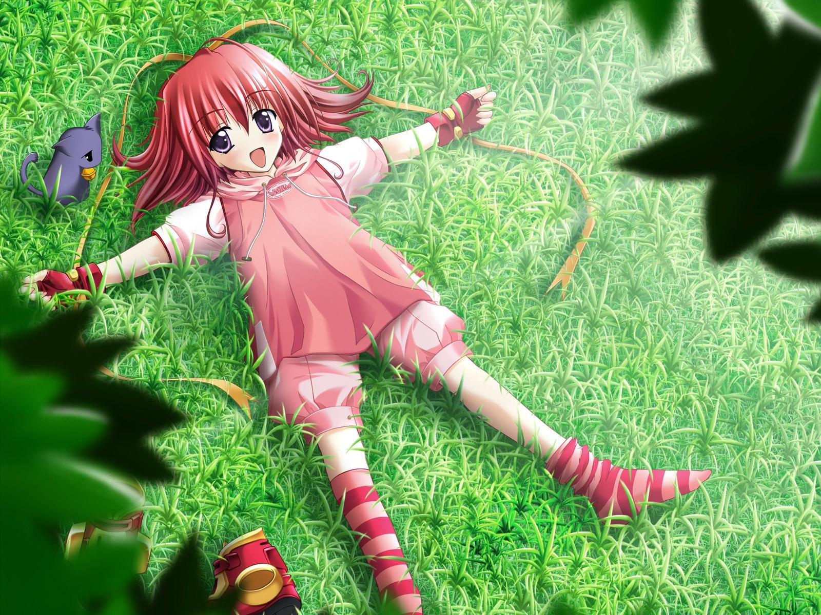 Аниме картинки маленькой девочки