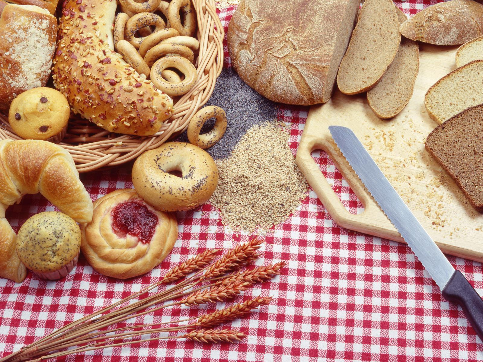 Картинки хлеба и тортов