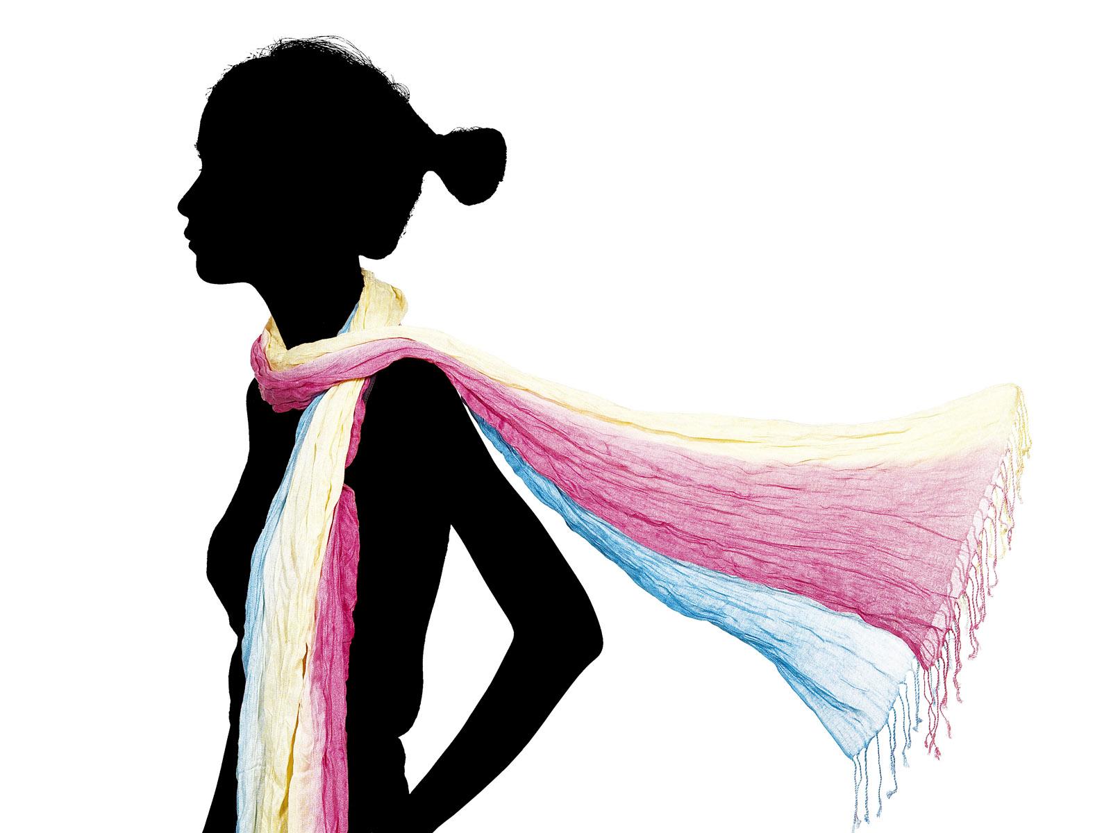 Обои Разноцветный шарф - 1024x768.