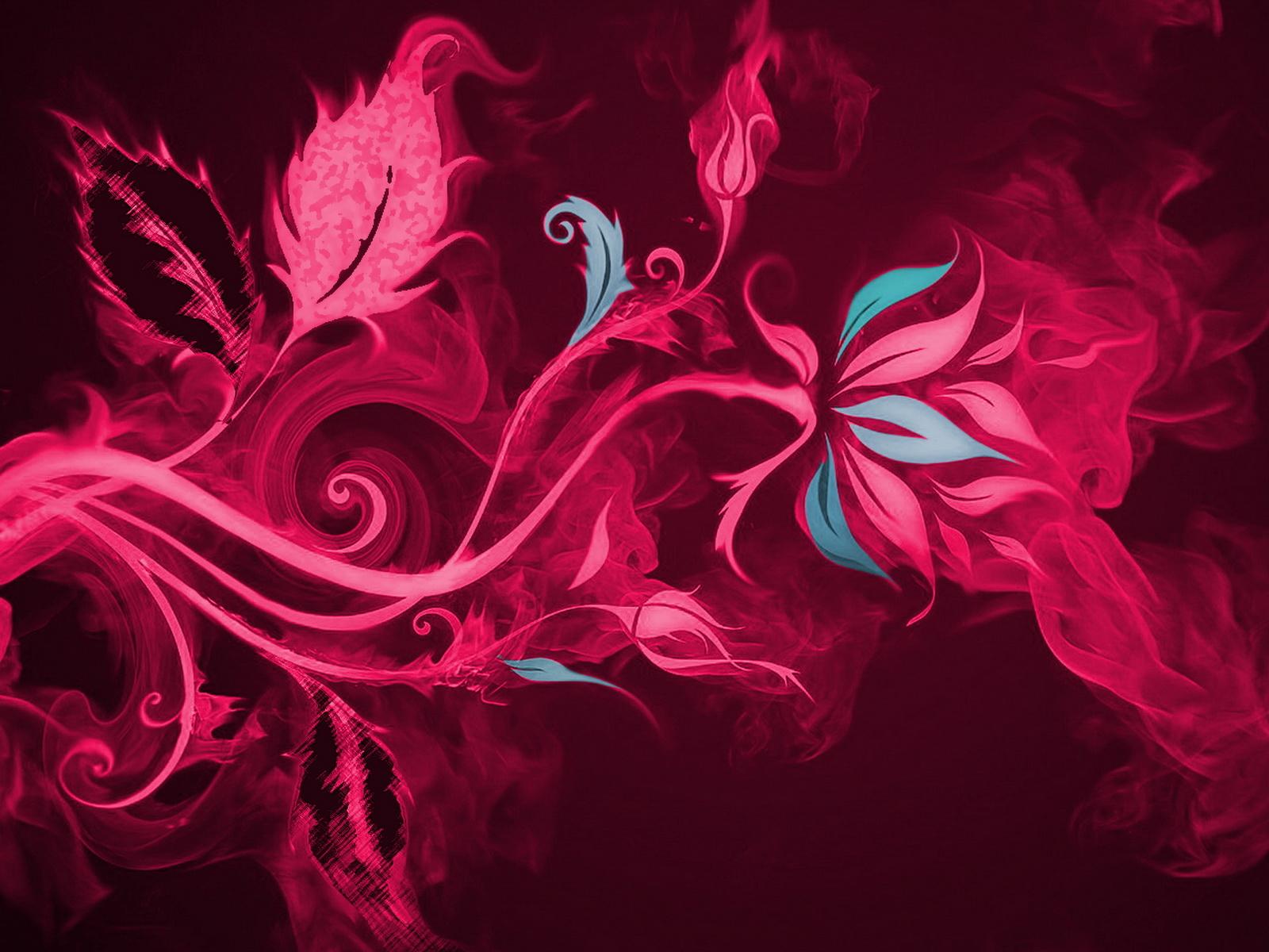 картинки огненный цветок: