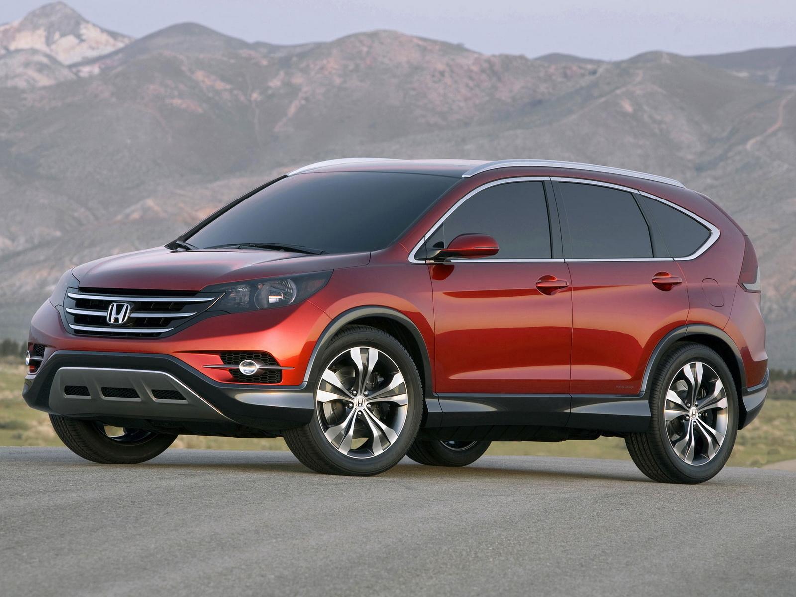 2012 Honda CR-V Concept - Офицмальное ФОТО и подробности.