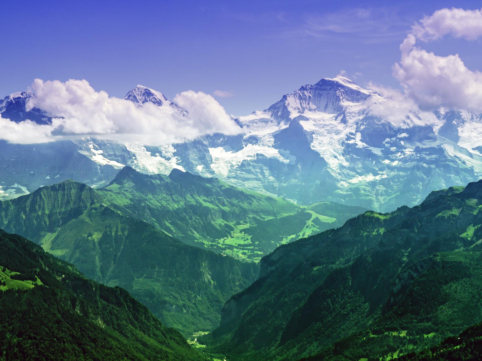 Bernese Alps, Switzerland Desktop wallpapers 1600x1200 Bernese Alps, Switzerland