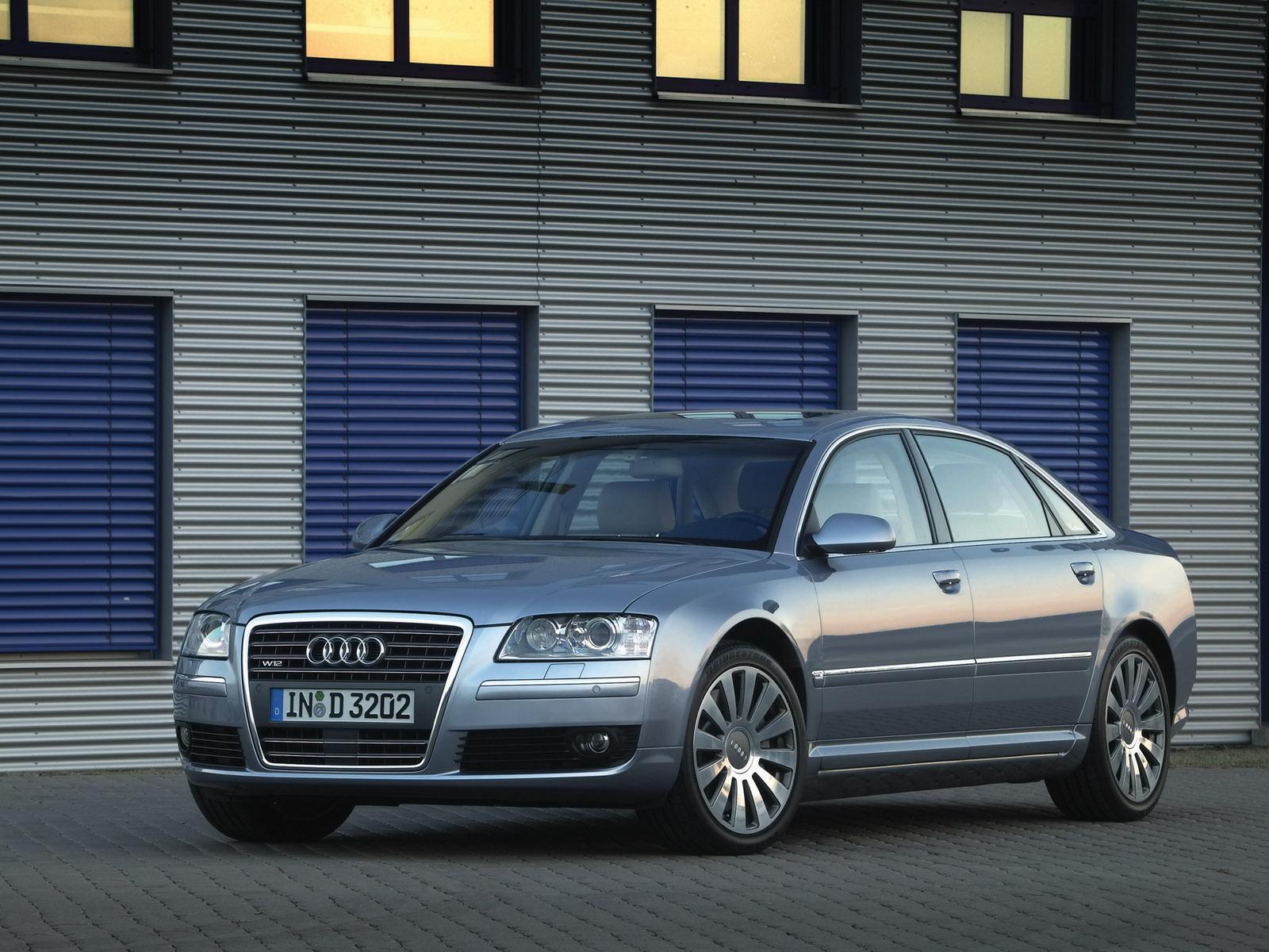 Audi A8 Driving