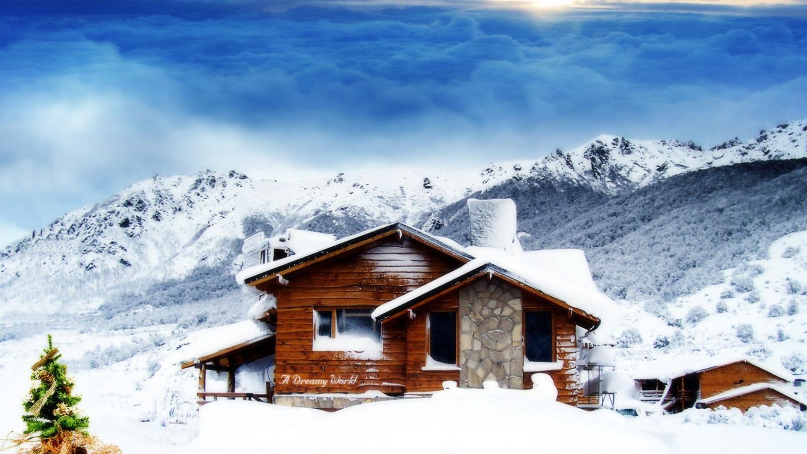 1600x900 hd desktop wallpaper winter - photo #9