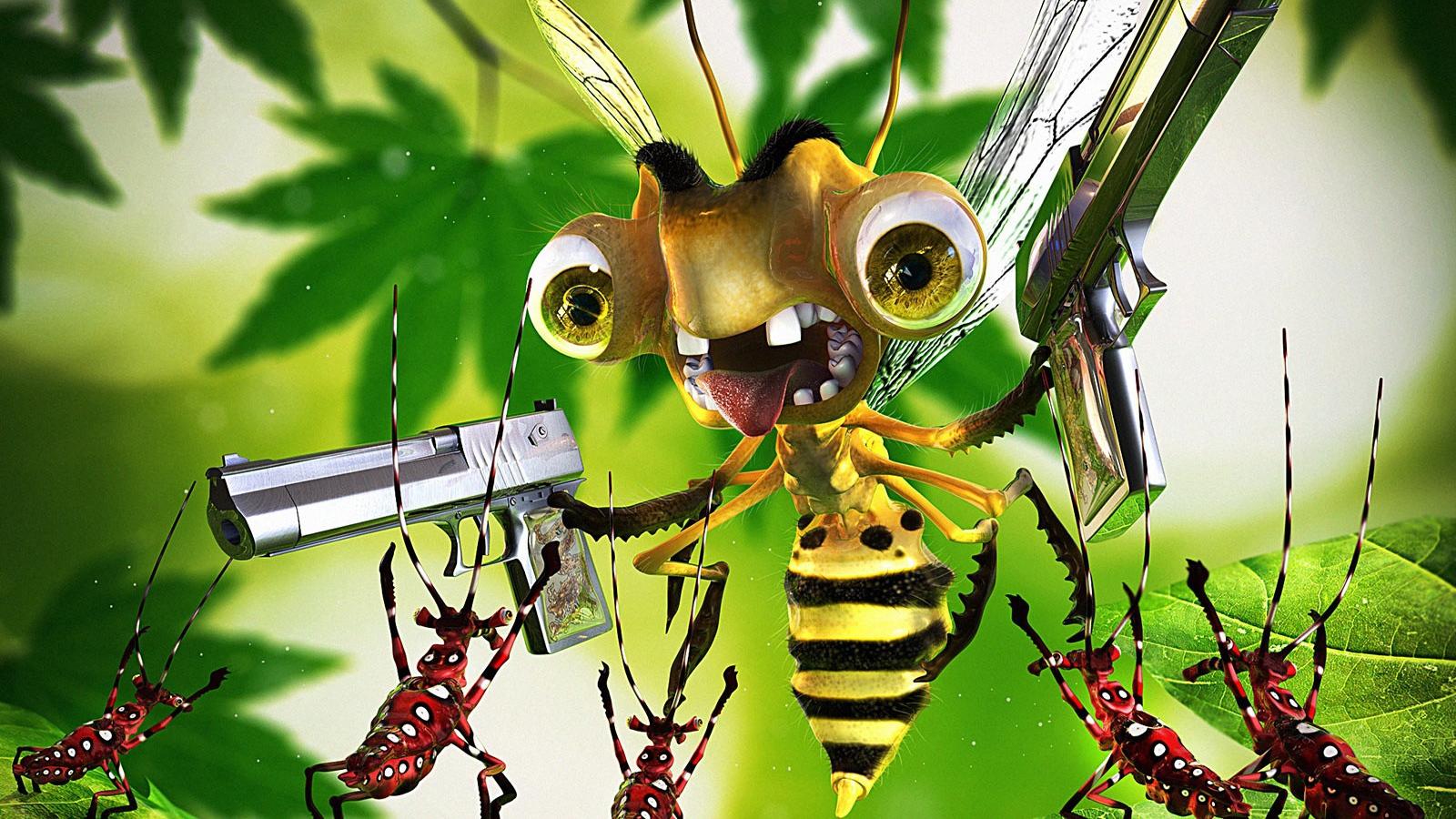 Картинки с пчелами смешные, открытки днем