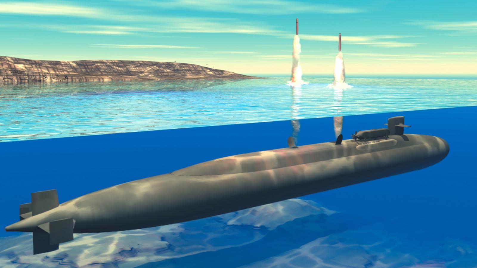 запуск новой подводной лодки