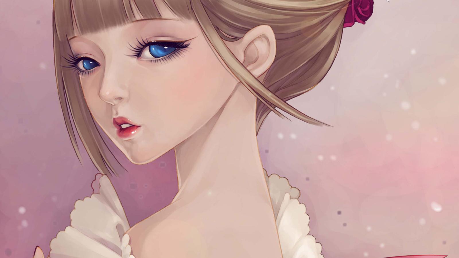 Картинки аниме красивые девушки, армейские