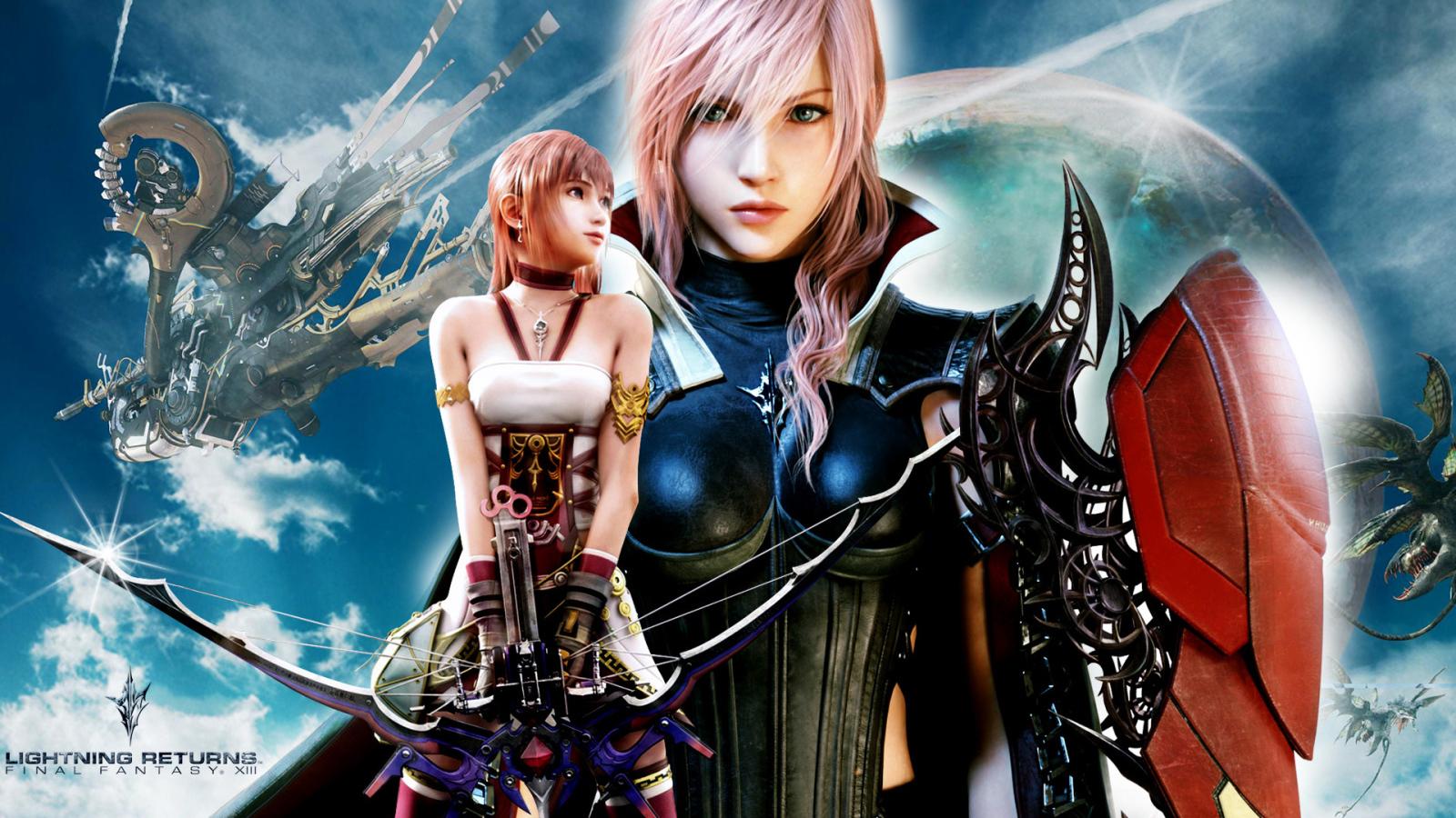 The Heroine Of The Game Final Fantasy Xv Desktop Wallpapers 1600x900