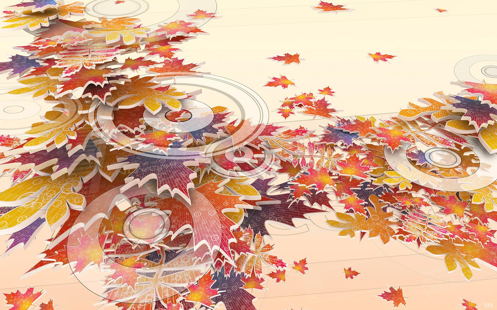 Картинки креативные осень на рабочий стол