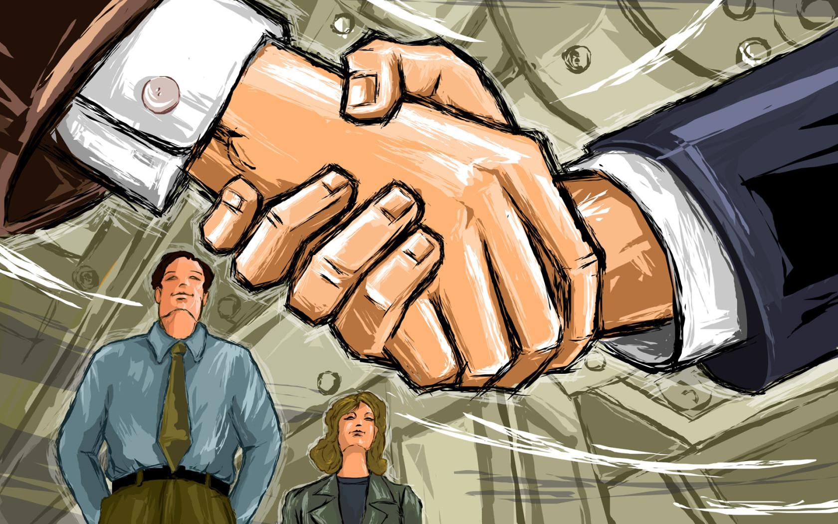 Handshake Wallpaper