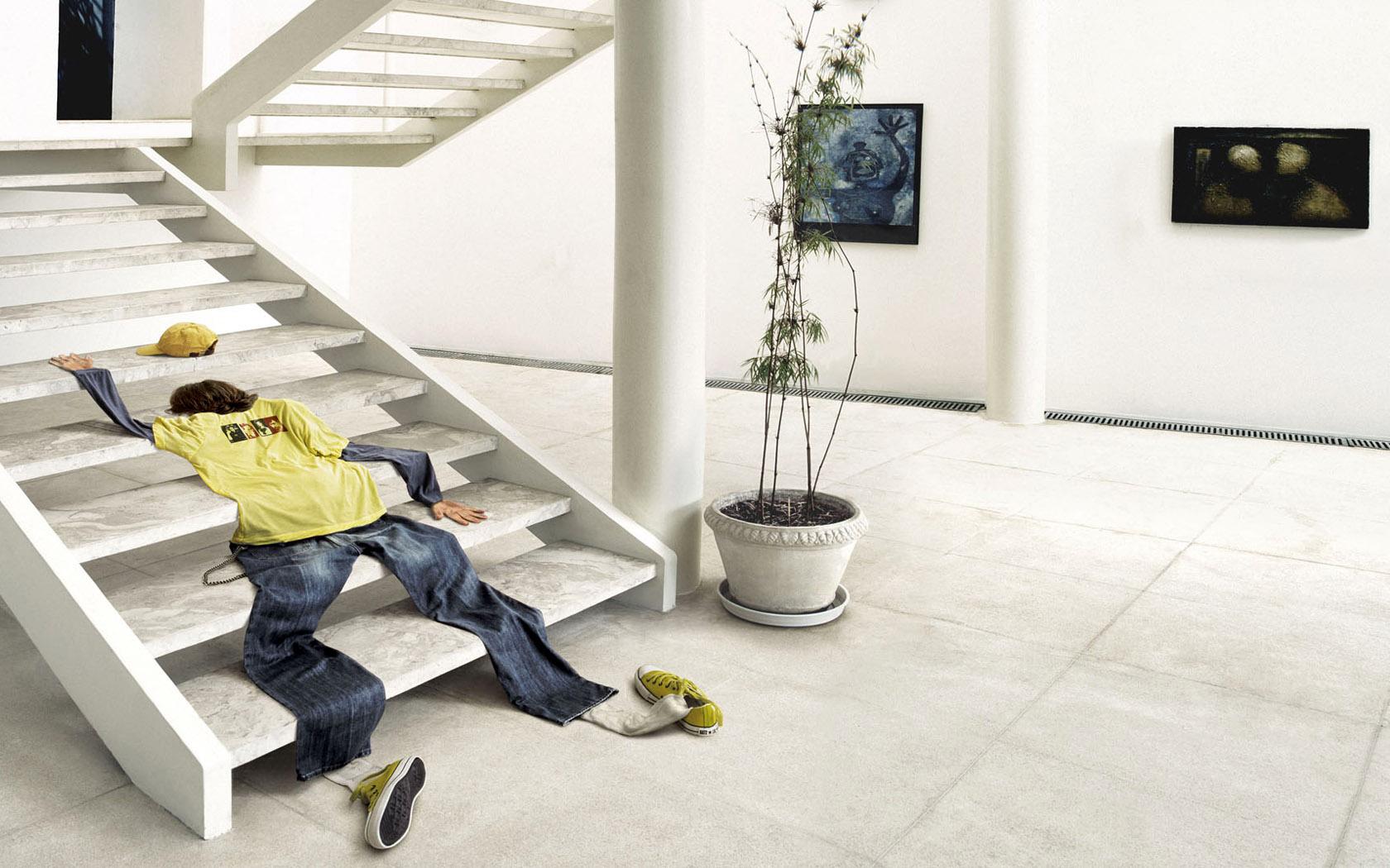 Лестница смешные картинки