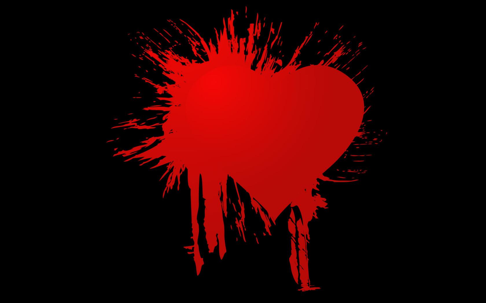 Previous, Holidays - Saint Valentines Day - Broken Heart wallpaper