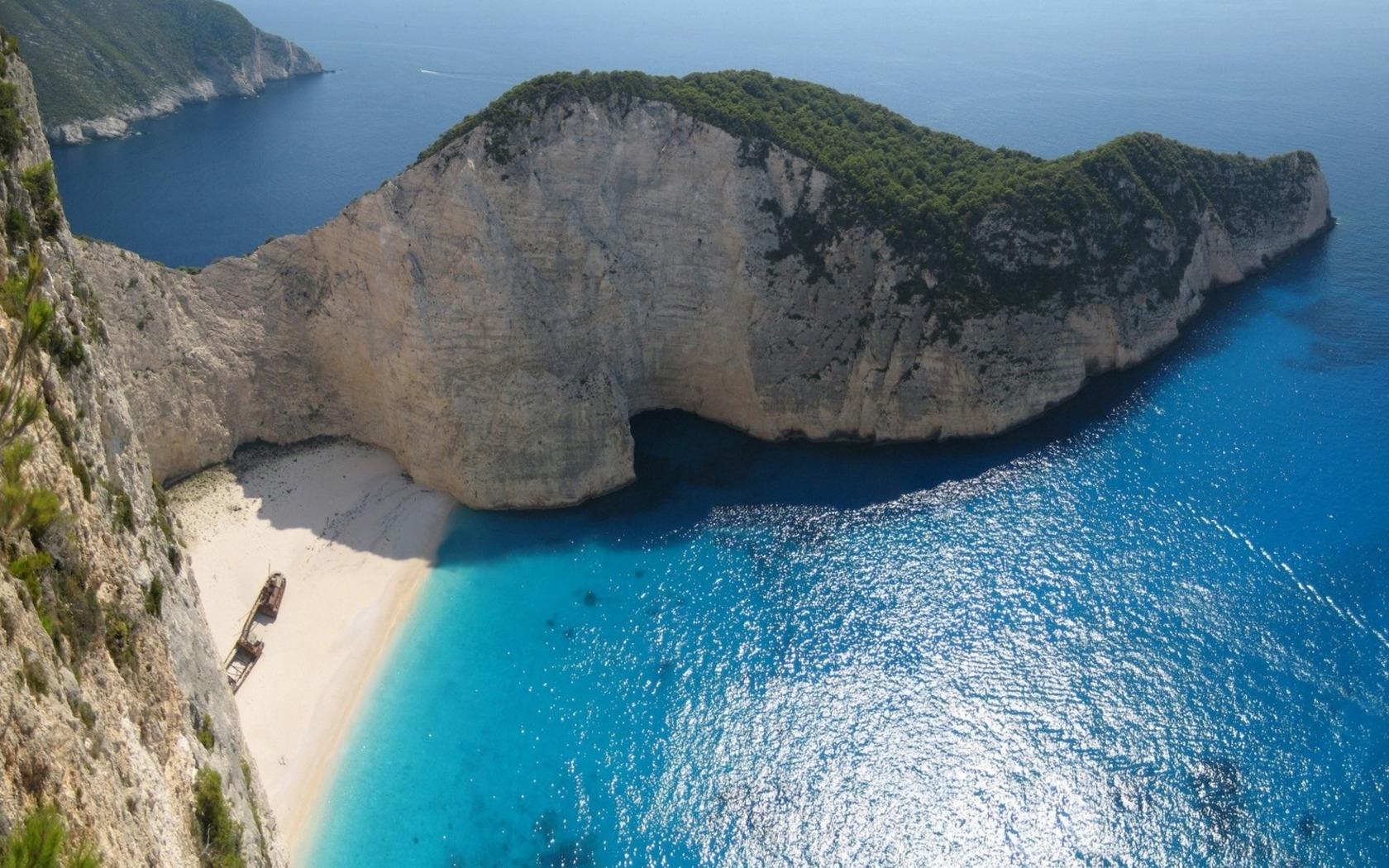 Zakynthos Island Greece  city images : Navagio Beach in Zakynthos Island Greece 1