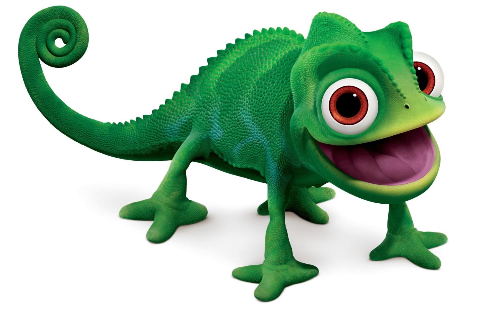 Tangled a chameleon pascal desktop wallpapers 1680x1050 - Raiponce cameleon ...