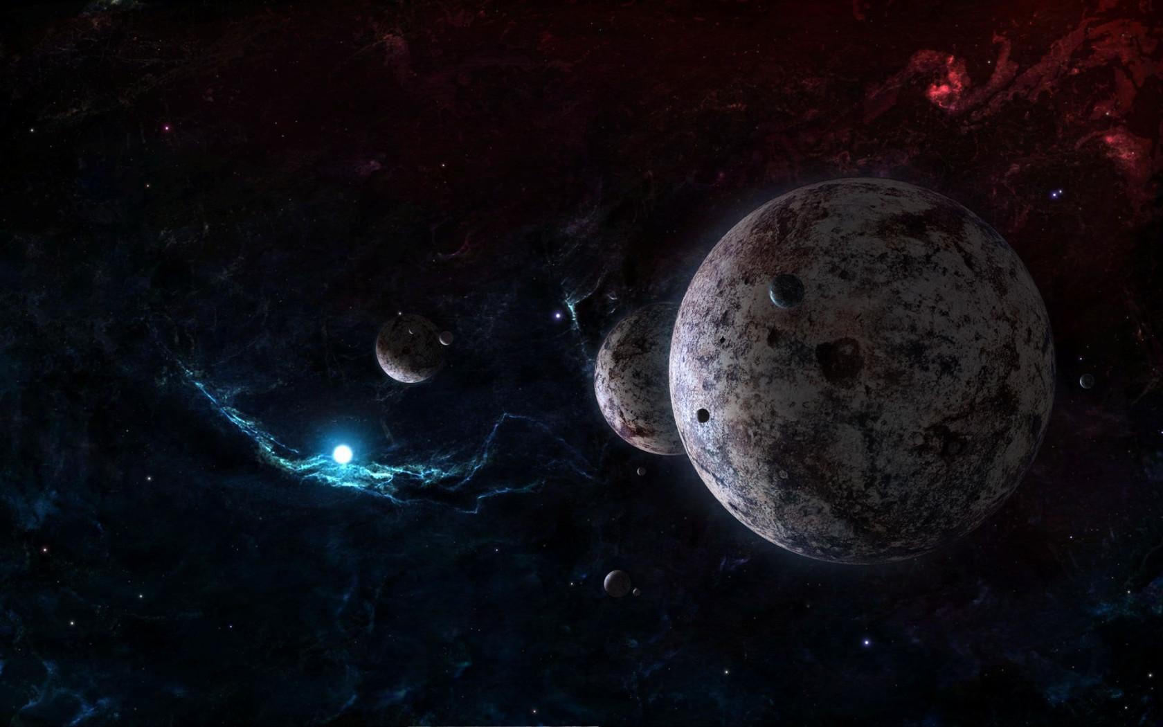 Distant Planet Desktop wallpapers 1680x1050