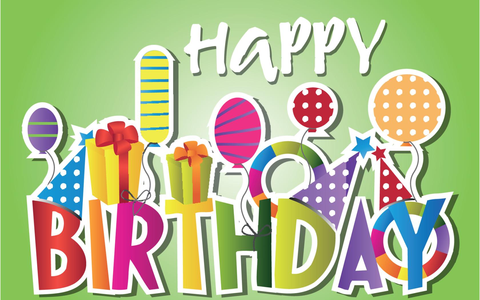 Зеленые открытки с днем рождения