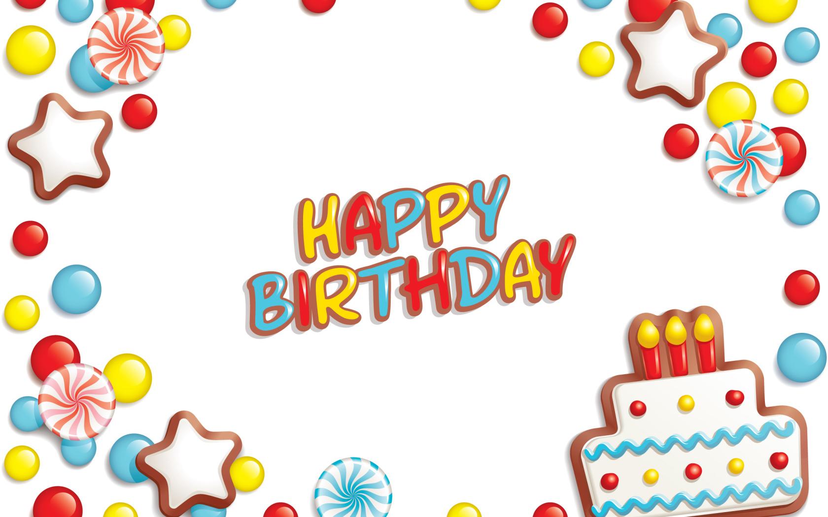 Поздравительные, клипарты открытки на день рождения