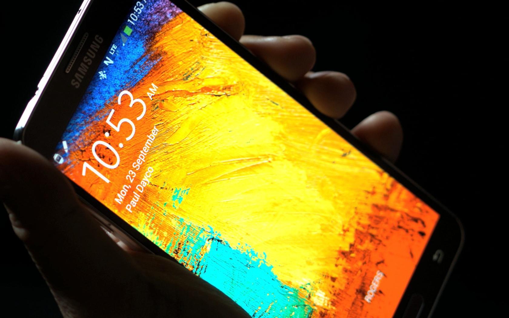 Screen Samsung Galaxy Note 3 Desktop Wallpapers 1680x1050