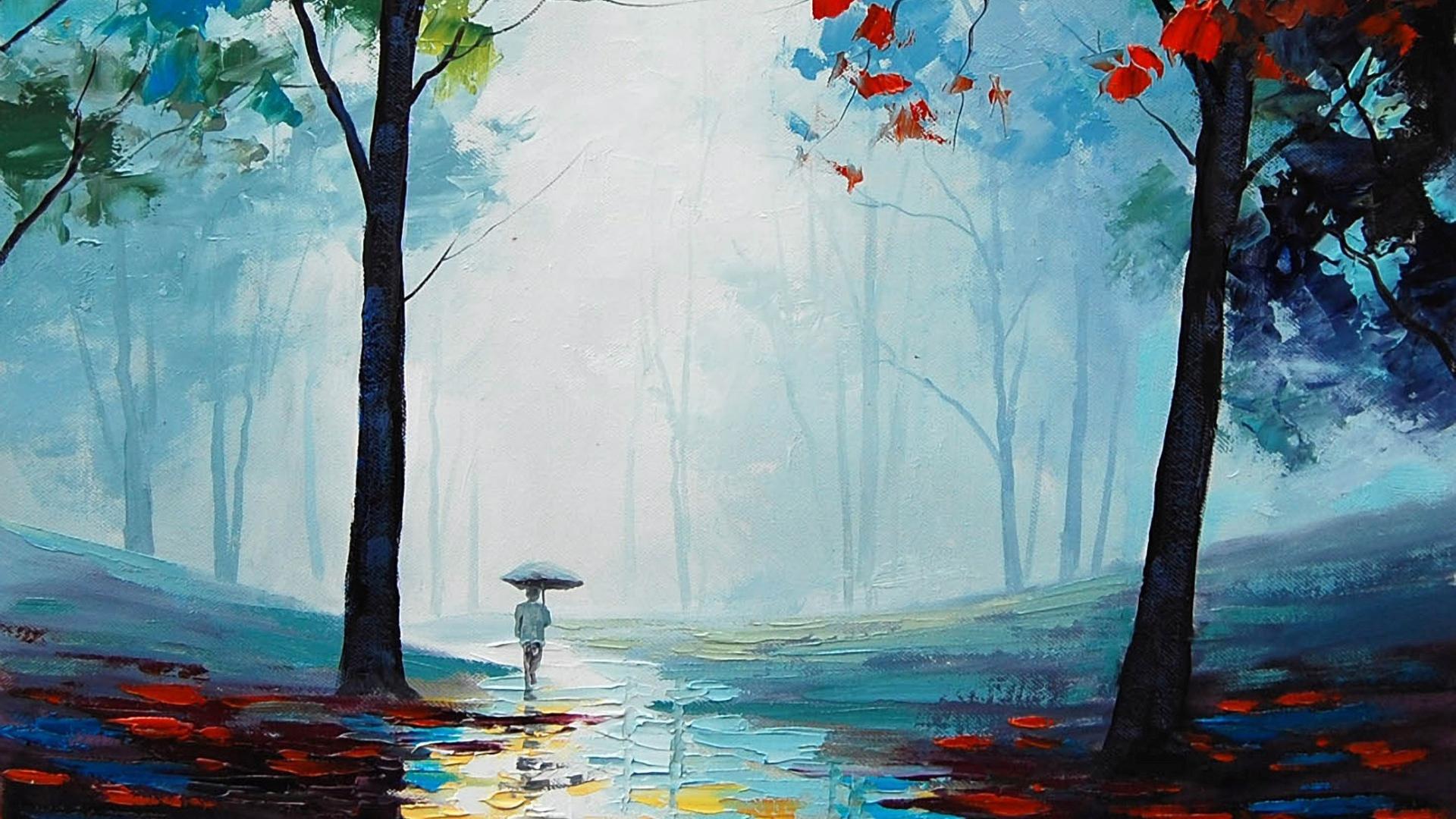 Nature   Seasons   Autumn the autumn rain 046200 23