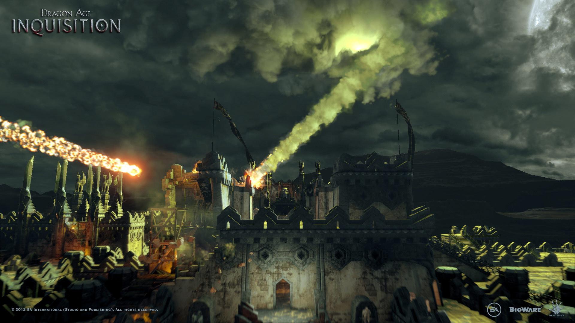 Dragon Age Inquisition Meteor Shower Desktop Wallpapers 1920x1080