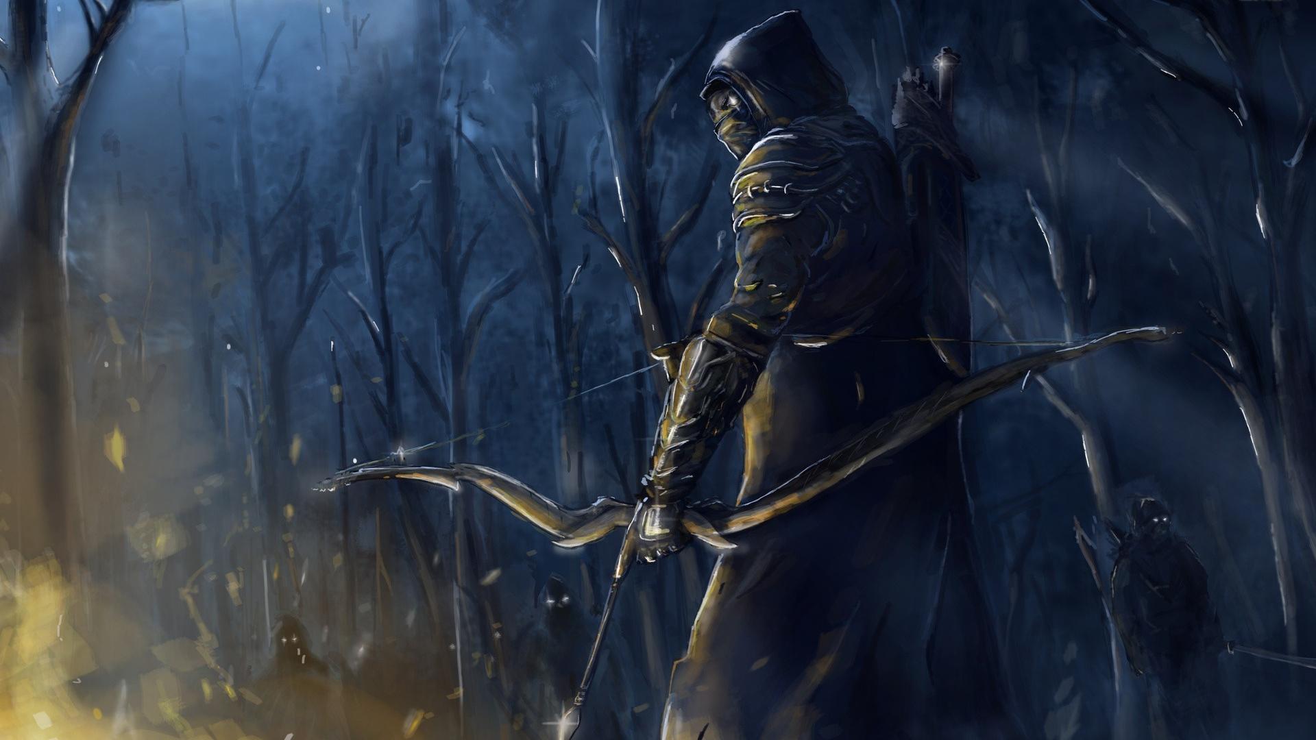 Elder Scrolls Online The Archer Desktop Wallpapers 1920x1080