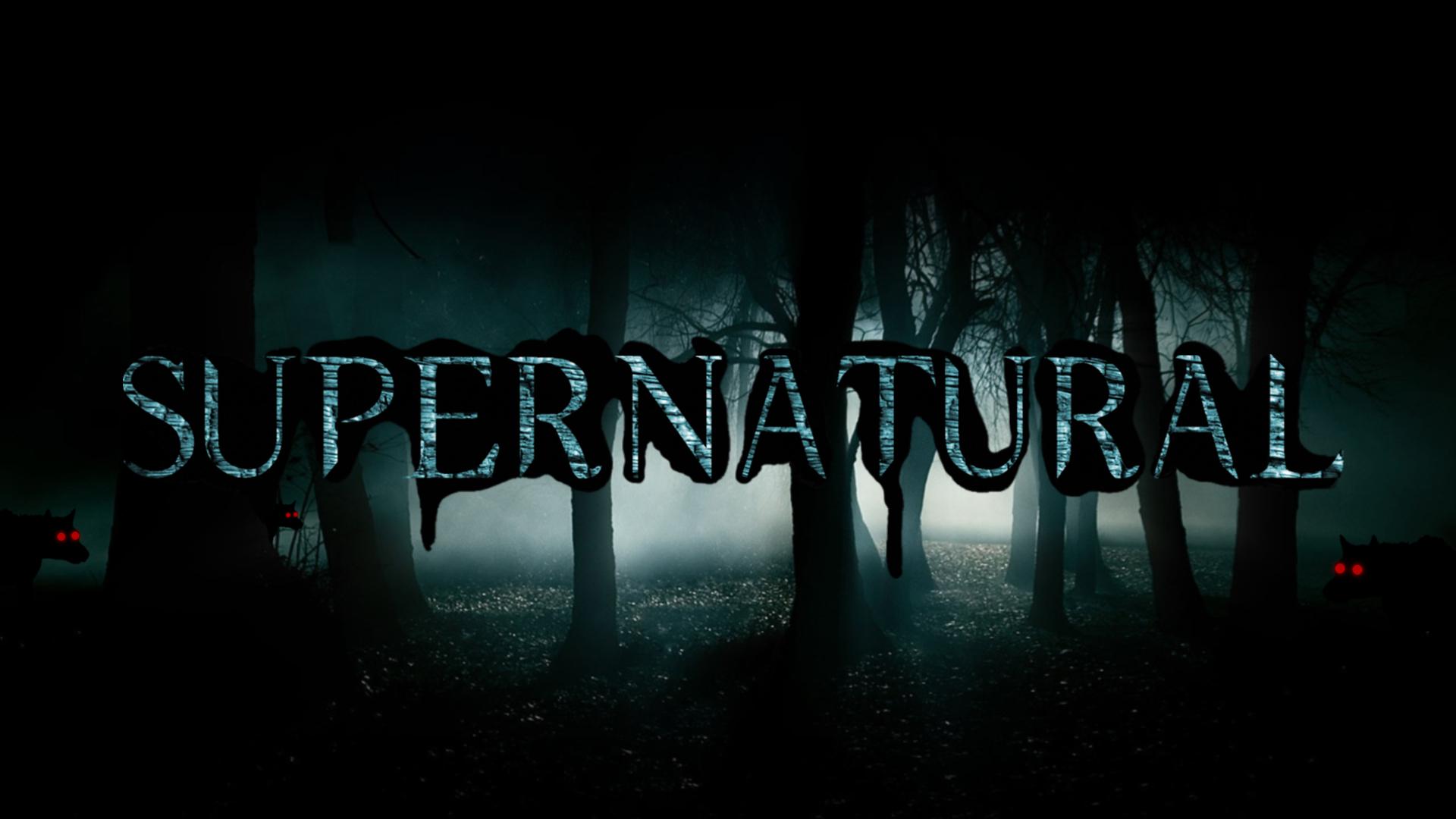 Dark Forest Of The Series Supernatural Desktop Wallpapers