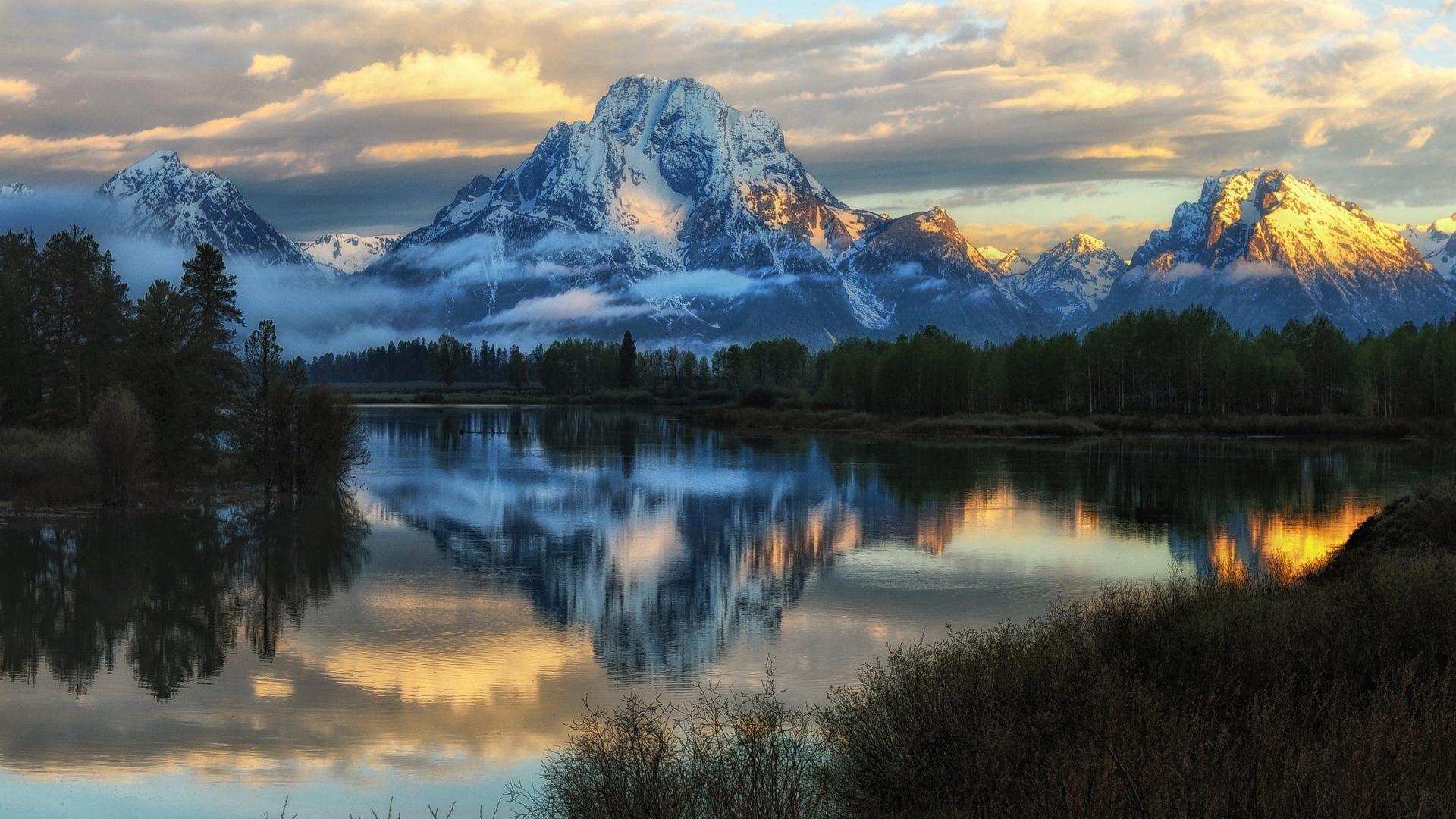 Colorful Landscape In Grand Teton National Park Desktop Wallpapers