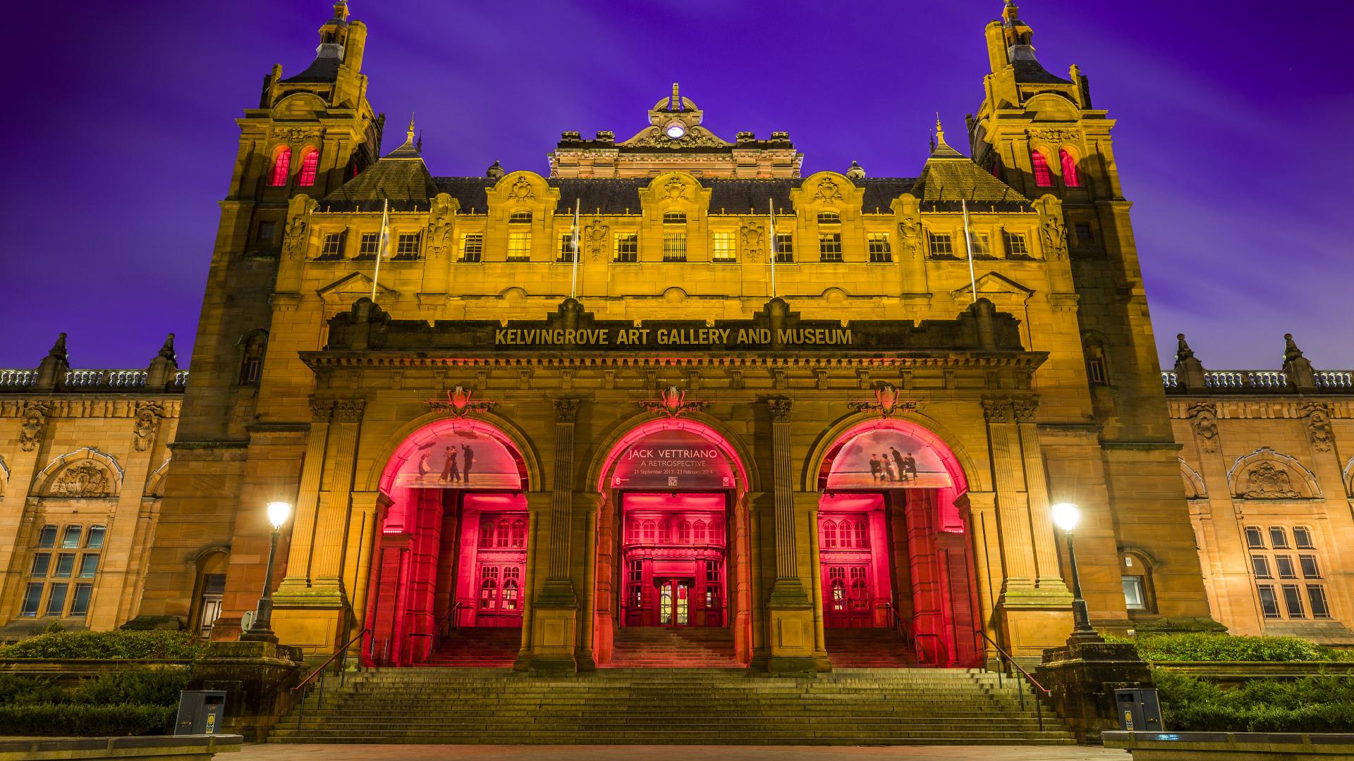 Художественная галерея и музей Келвингроув, Шотландия Обои ...