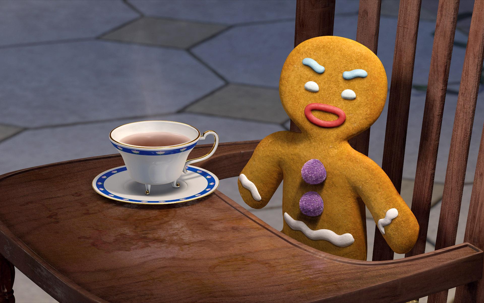Печенья из шрека картинка