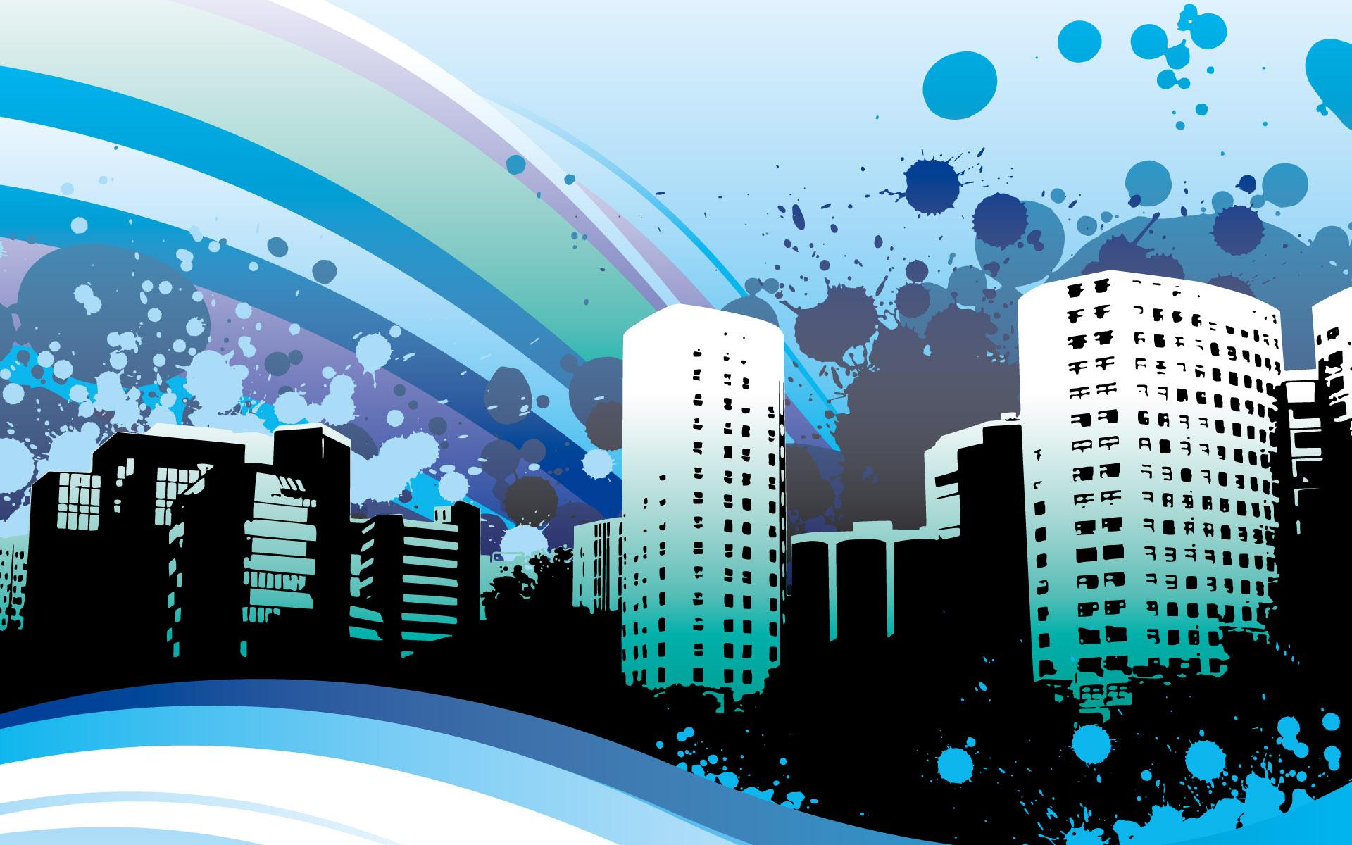город картинки рисунки