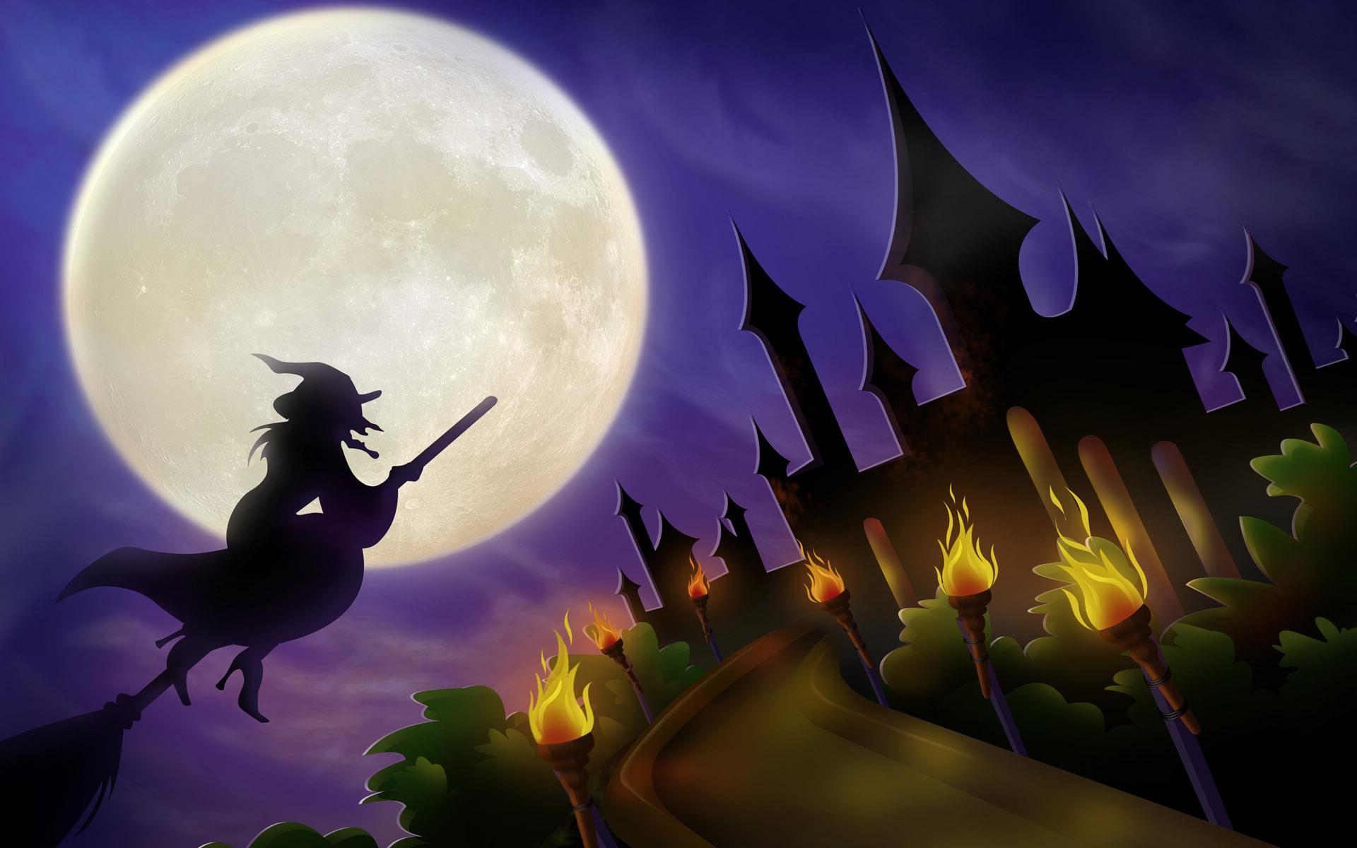 Красивые картинки хэллоуин, анимационные днем