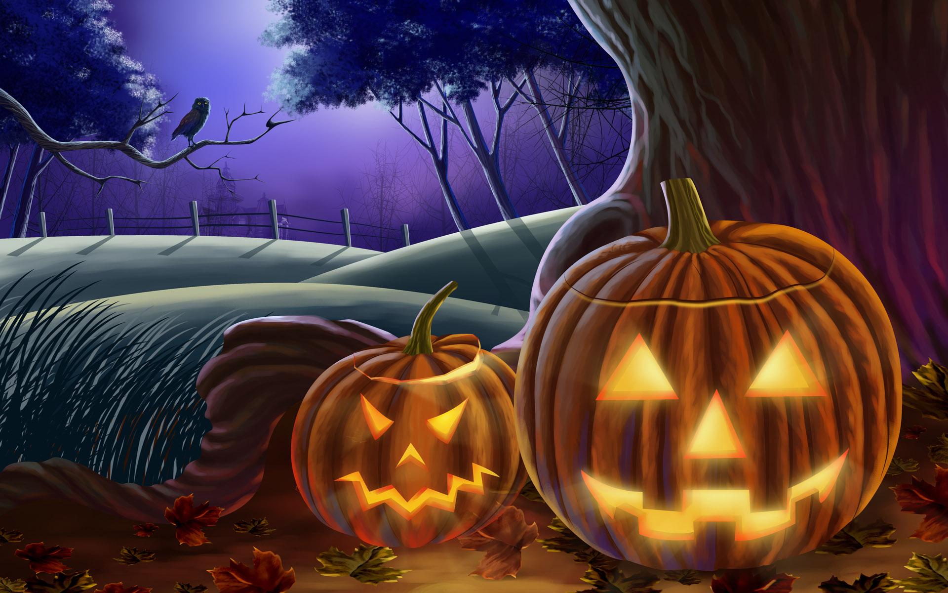 Тематические картинки хэллоуин