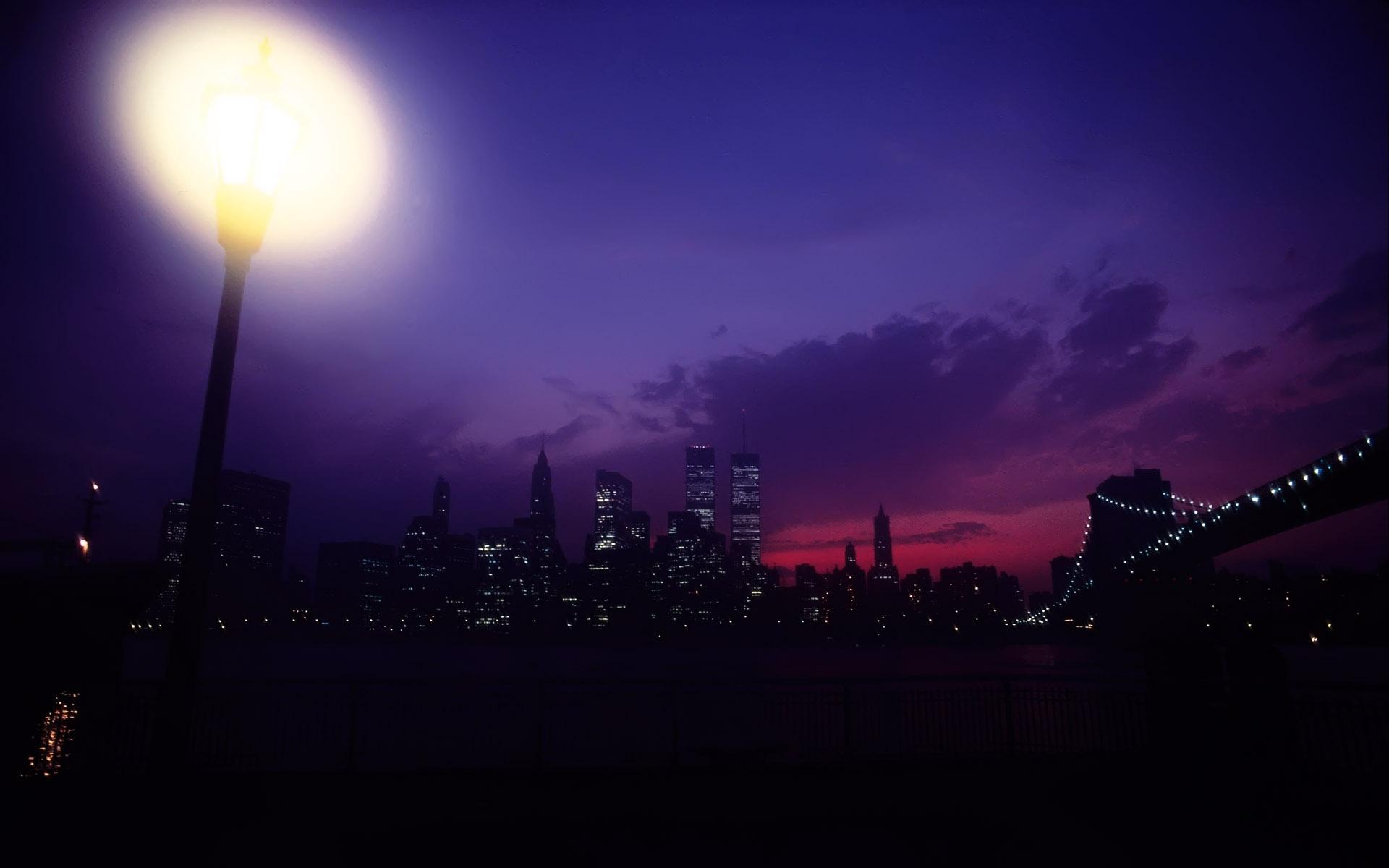 фотообои ночного нью йорка: