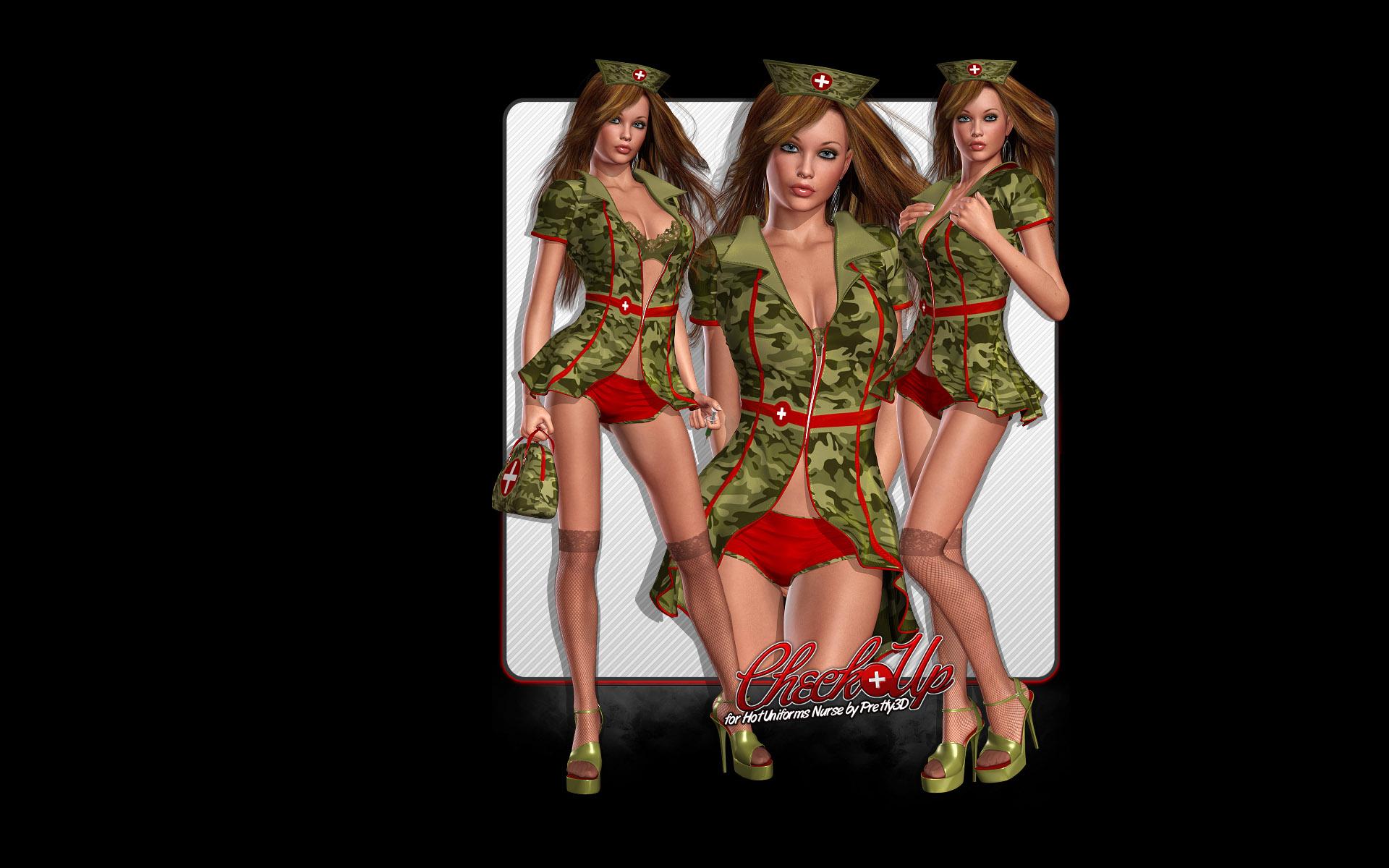 Рисованные девушки формами 5 фотография
