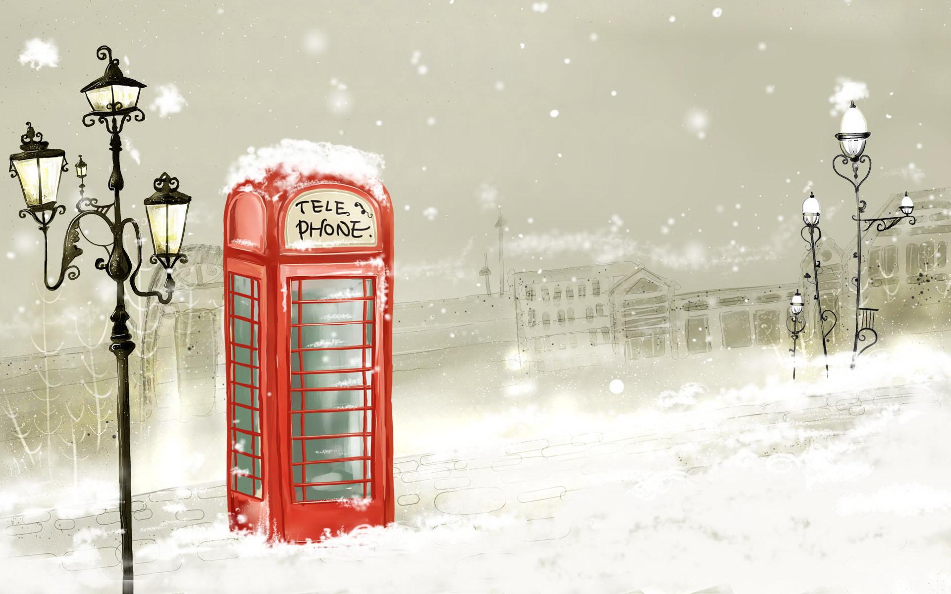 Зимняя англия открытка, картинки
