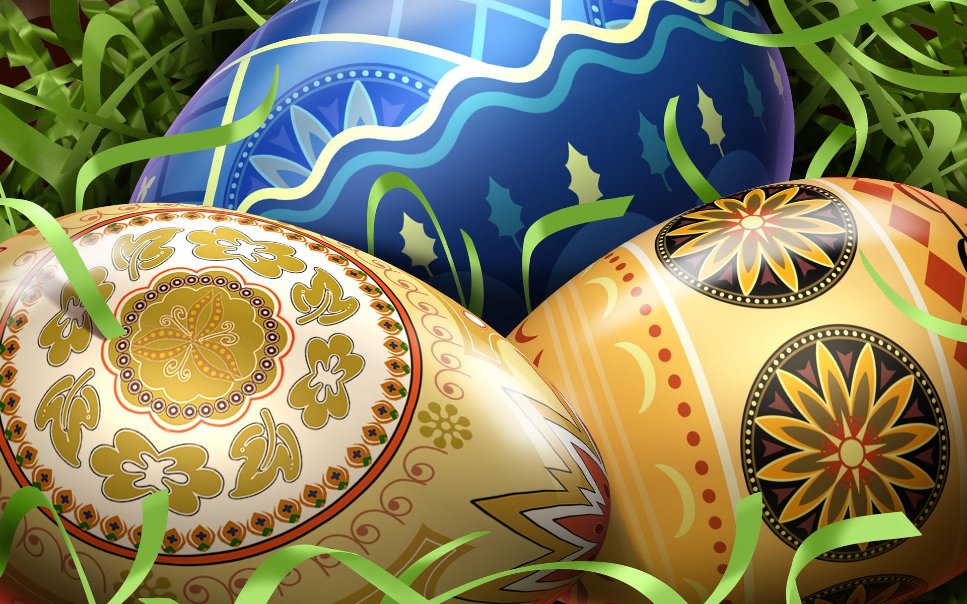 Яйца пасхальные открытка, февраля папе своими