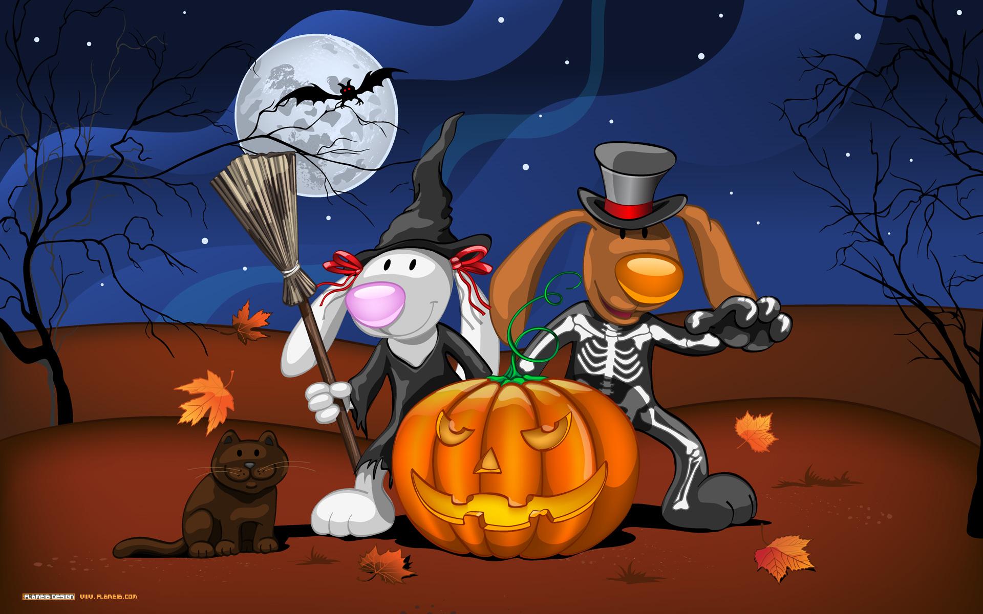 Прикольные рисунки на хэллоуин