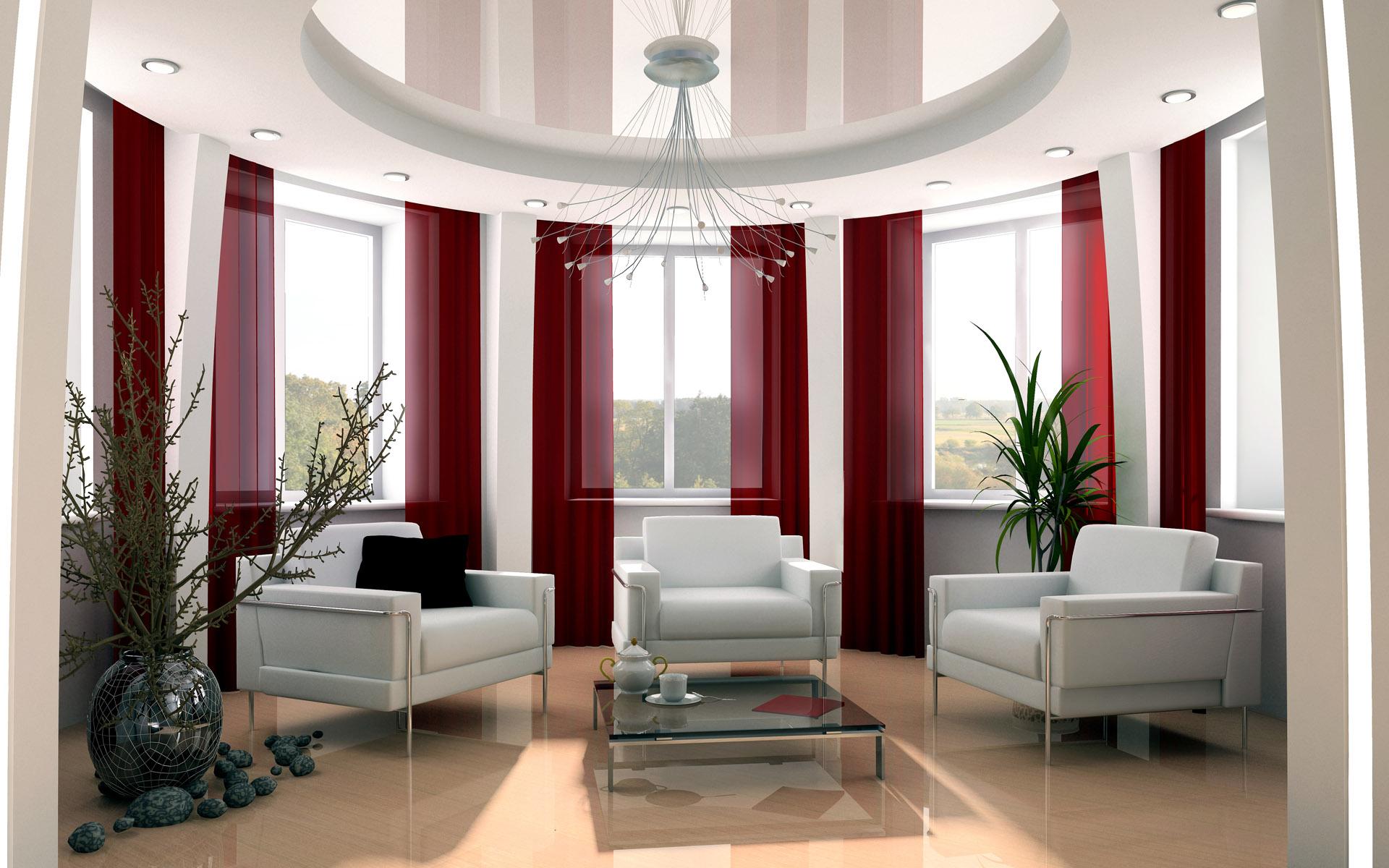 Окна в холле дизайн