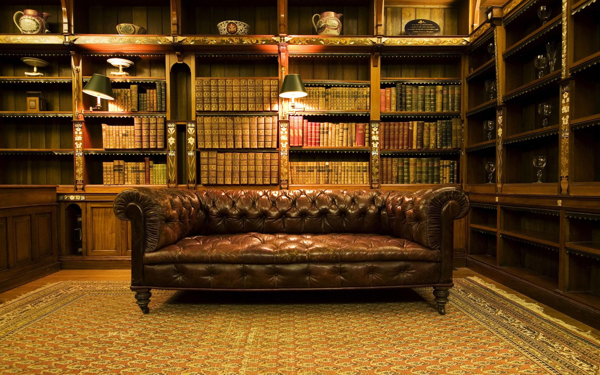 картинки старинных библиотек элементарно смешиваются кистью