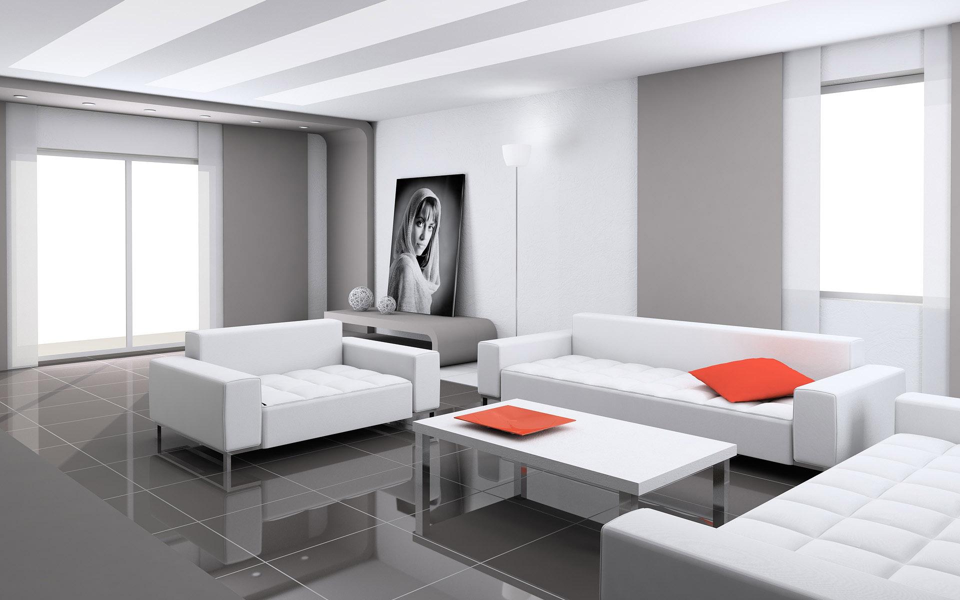 Обои интерьер квартиры студии