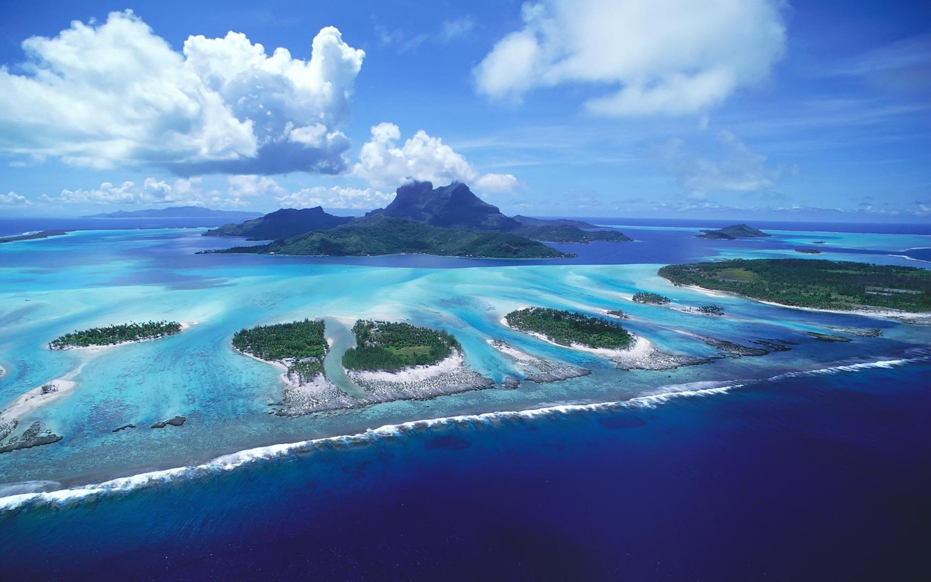 Zastaki.com - Рифы островов Бора Бора
