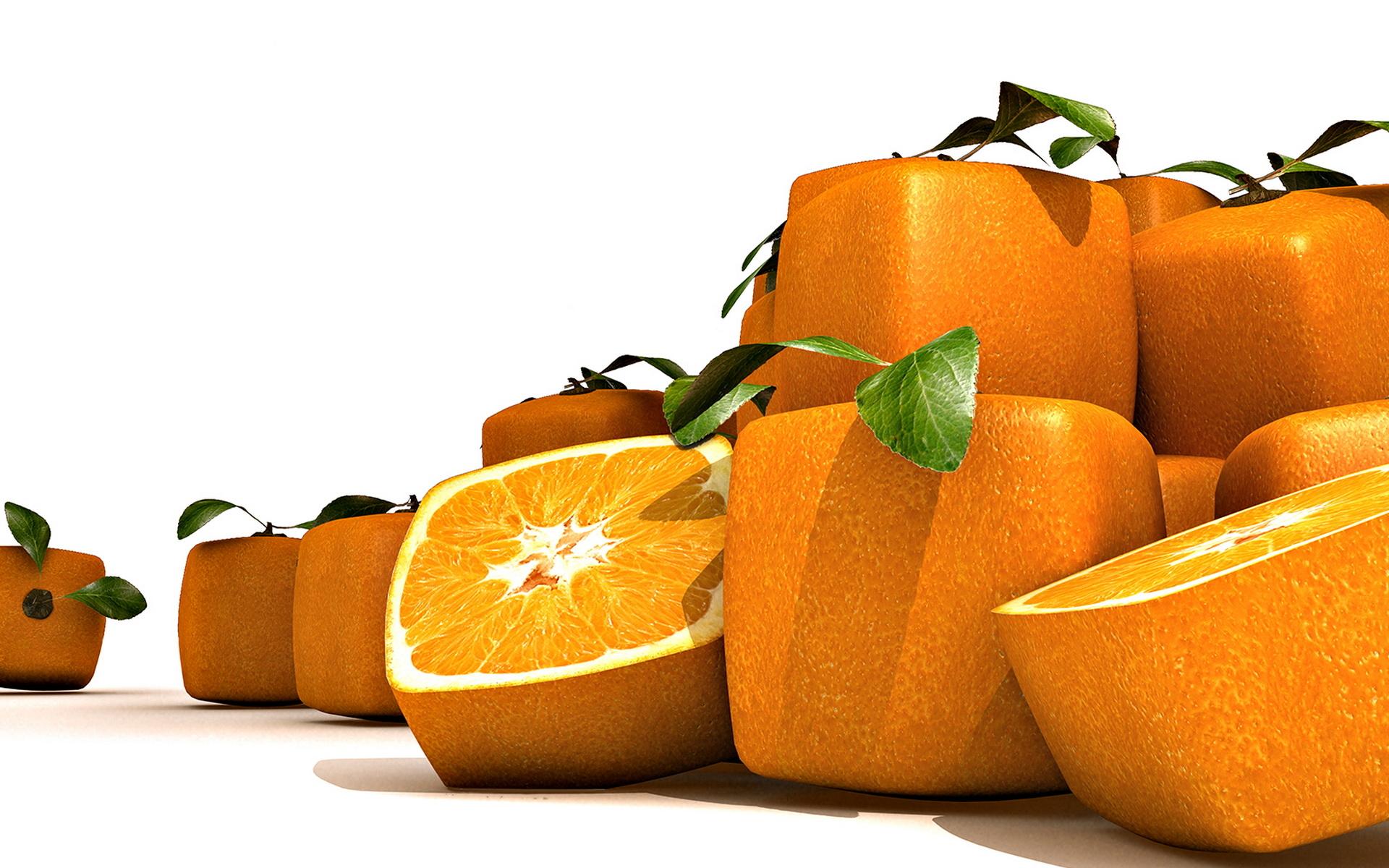 Zastaki.com - Квадратные апельсины