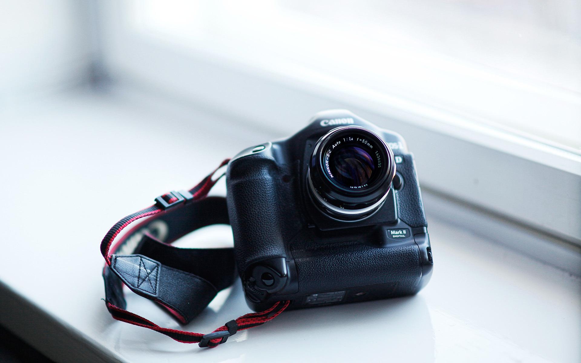 Обои фотоаппарат canon eos 5d mark ii