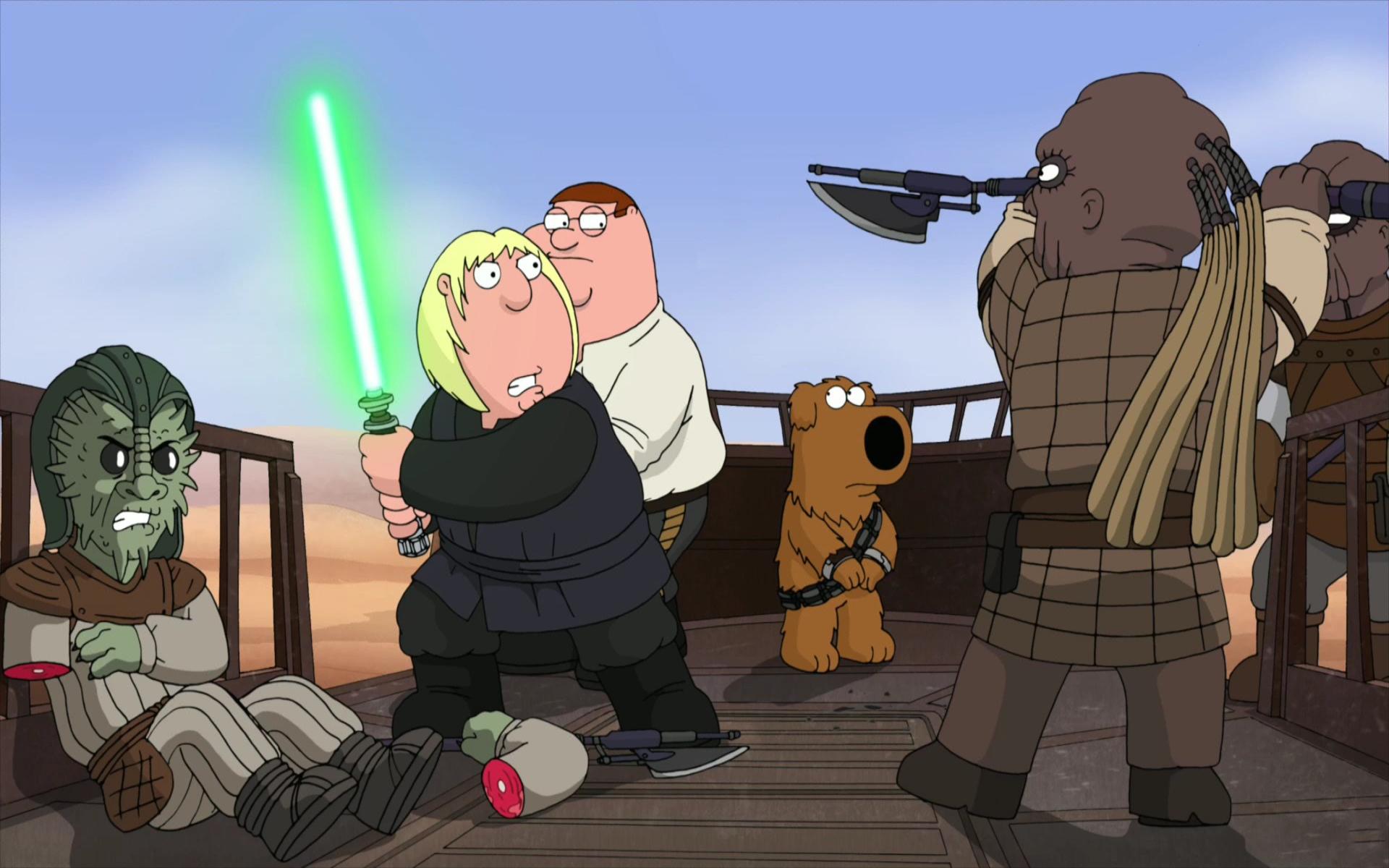 Family Guy Starwars
