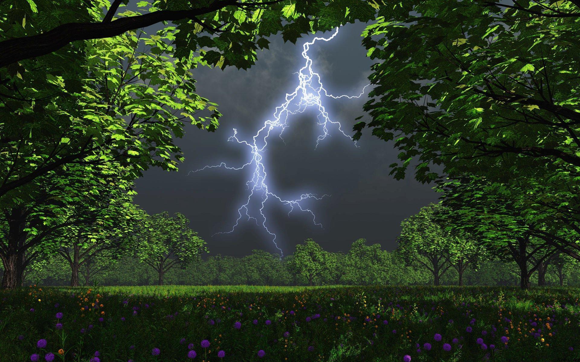 картинки грома и дождя обматывают