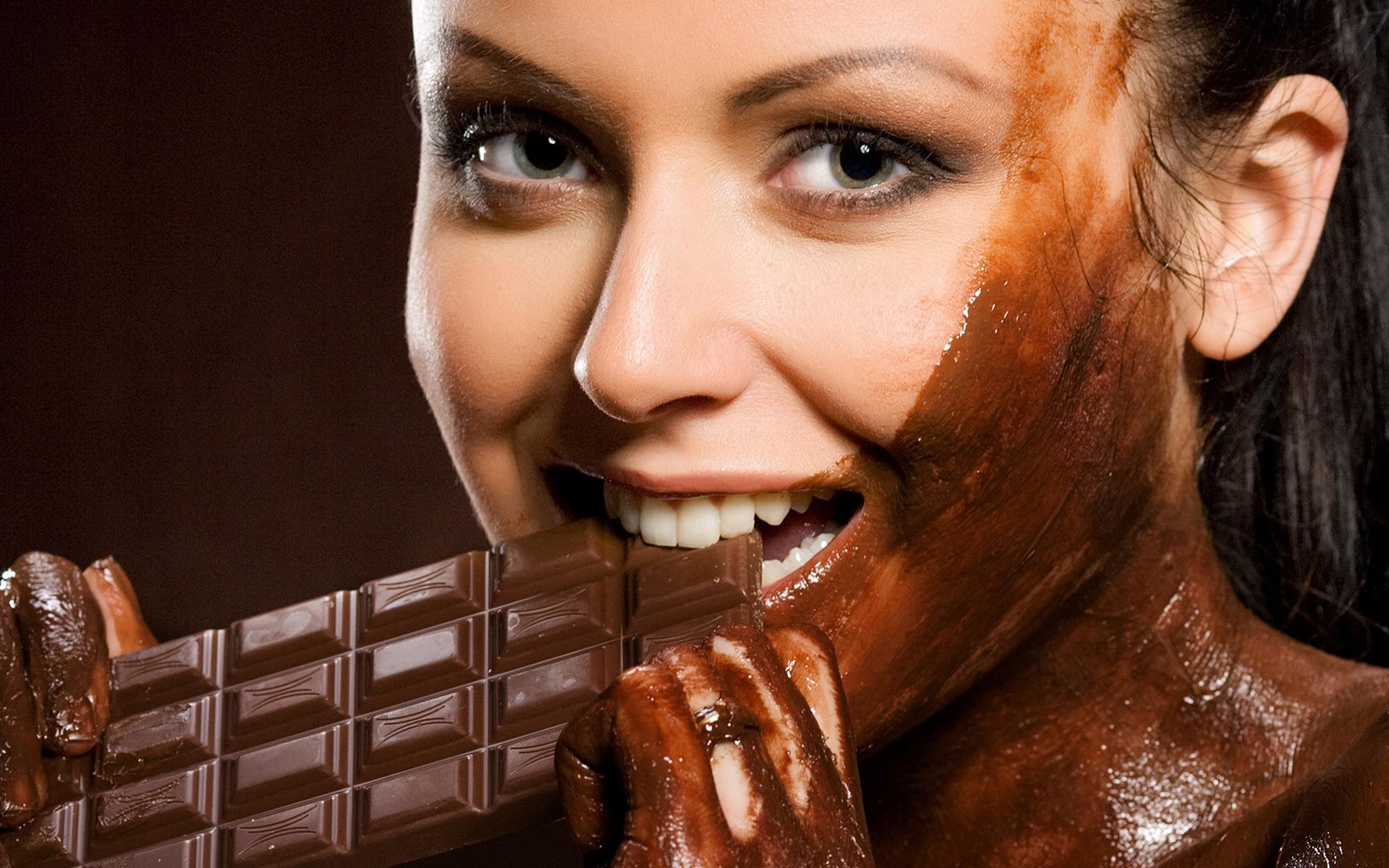 Прикольные картинки о шоколаде, рабочий стол качество