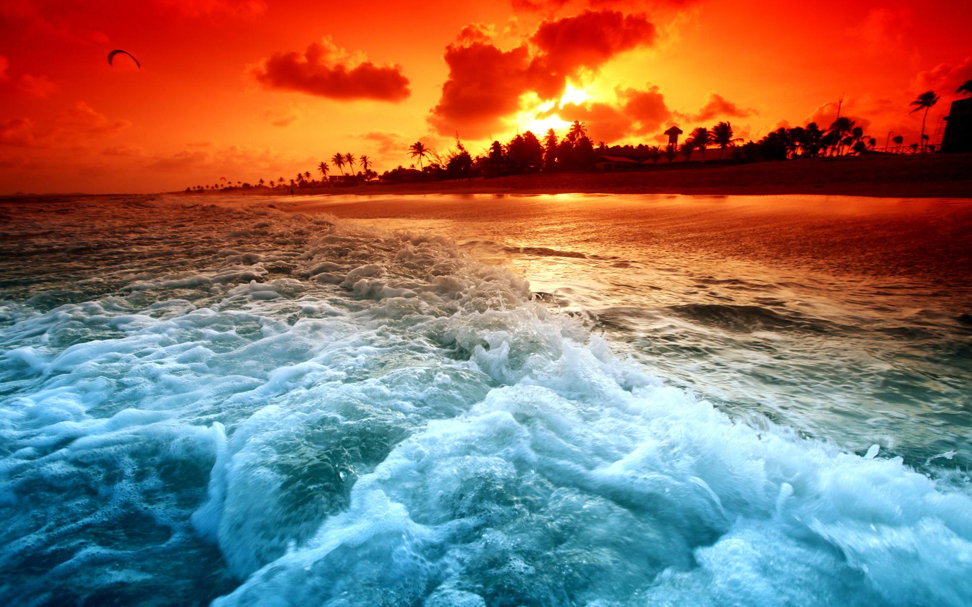 солнце, крутая морская картинка определённых