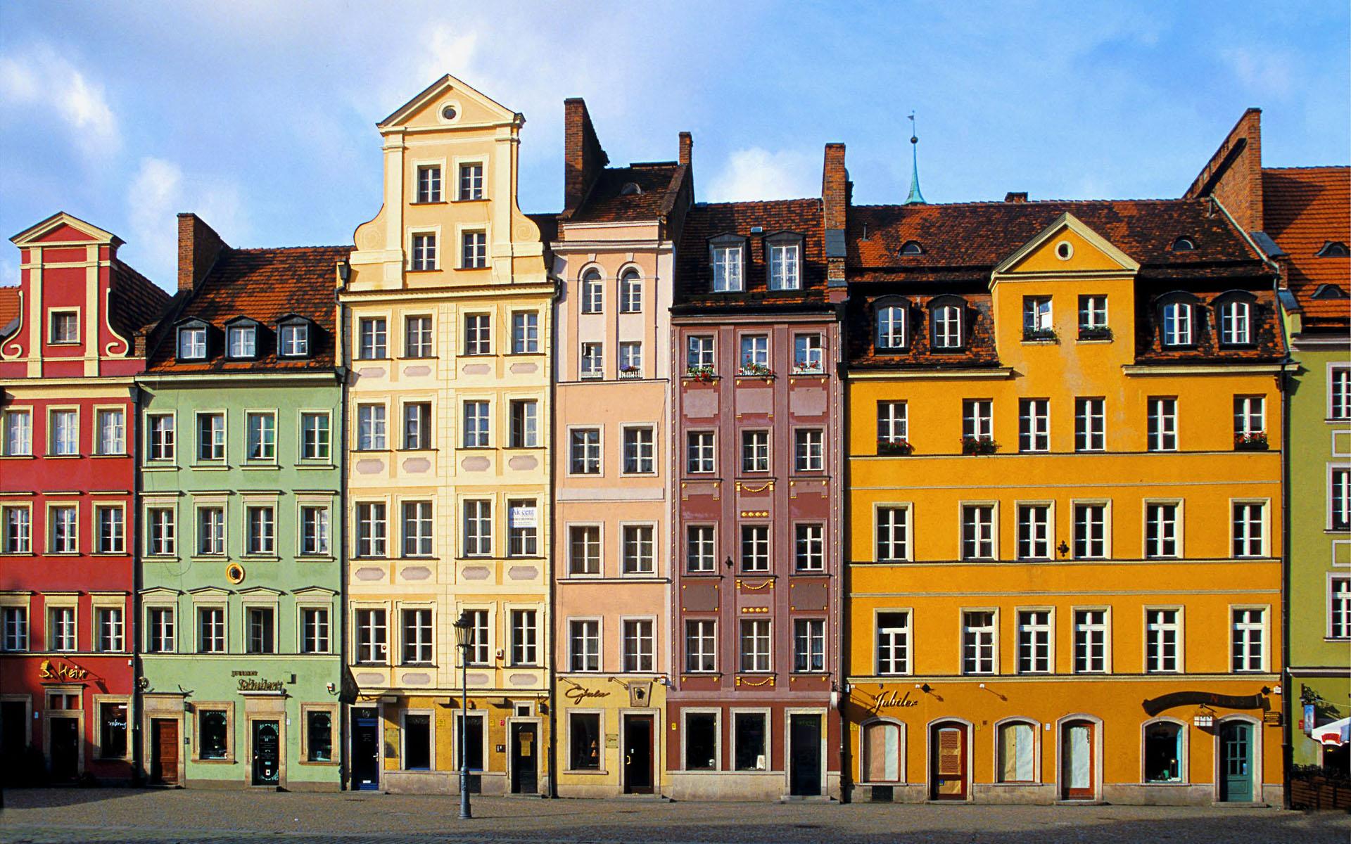 buildings colorful wallpaper - photo #13
