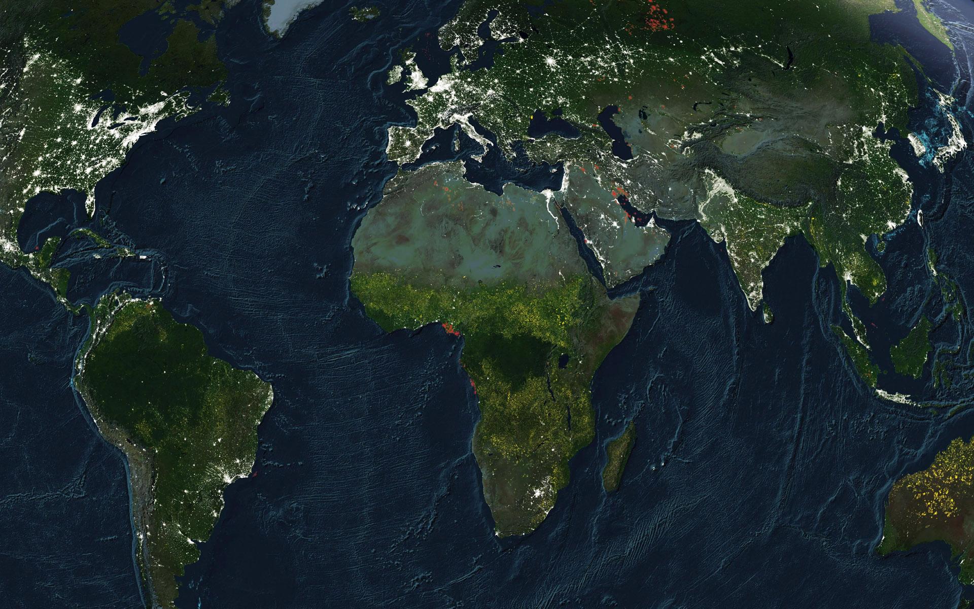 карта мира фото рабочего стола представляет собой
