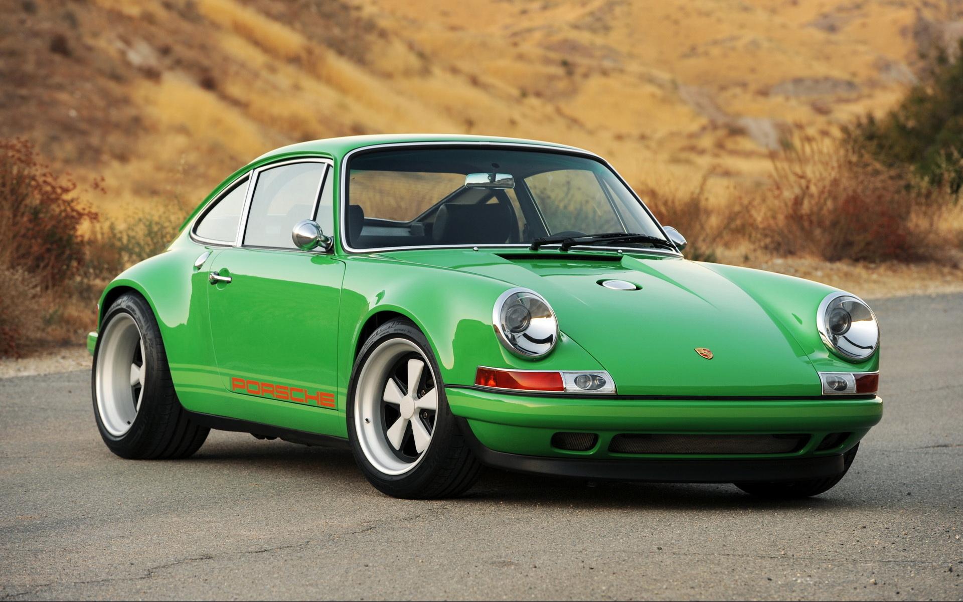 Porsche 911 singer cars landscapes wallpaper
